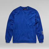 G-Star RAW® Stitch Panel Sweater Medium blue