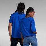 G-Star RAW® T-shirt Unisex Disco Boxy Bleu moyen