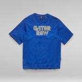 G-Star RAW® Unisex Disco Boxy T-Shirt Medium blue