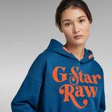 G-Star RAW® Unisex Foxy Hoodie Dark blue