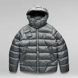 G-Star RAW® G - Whistler Padded Hooded Jacket Grey