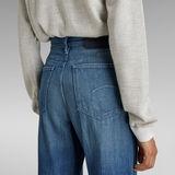 G-Star RAW® Deck Ultra High Wide Leg Jeans Mittelblau