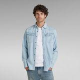 G-Star RAW® 3301 Slim Shirt Lichtblauw