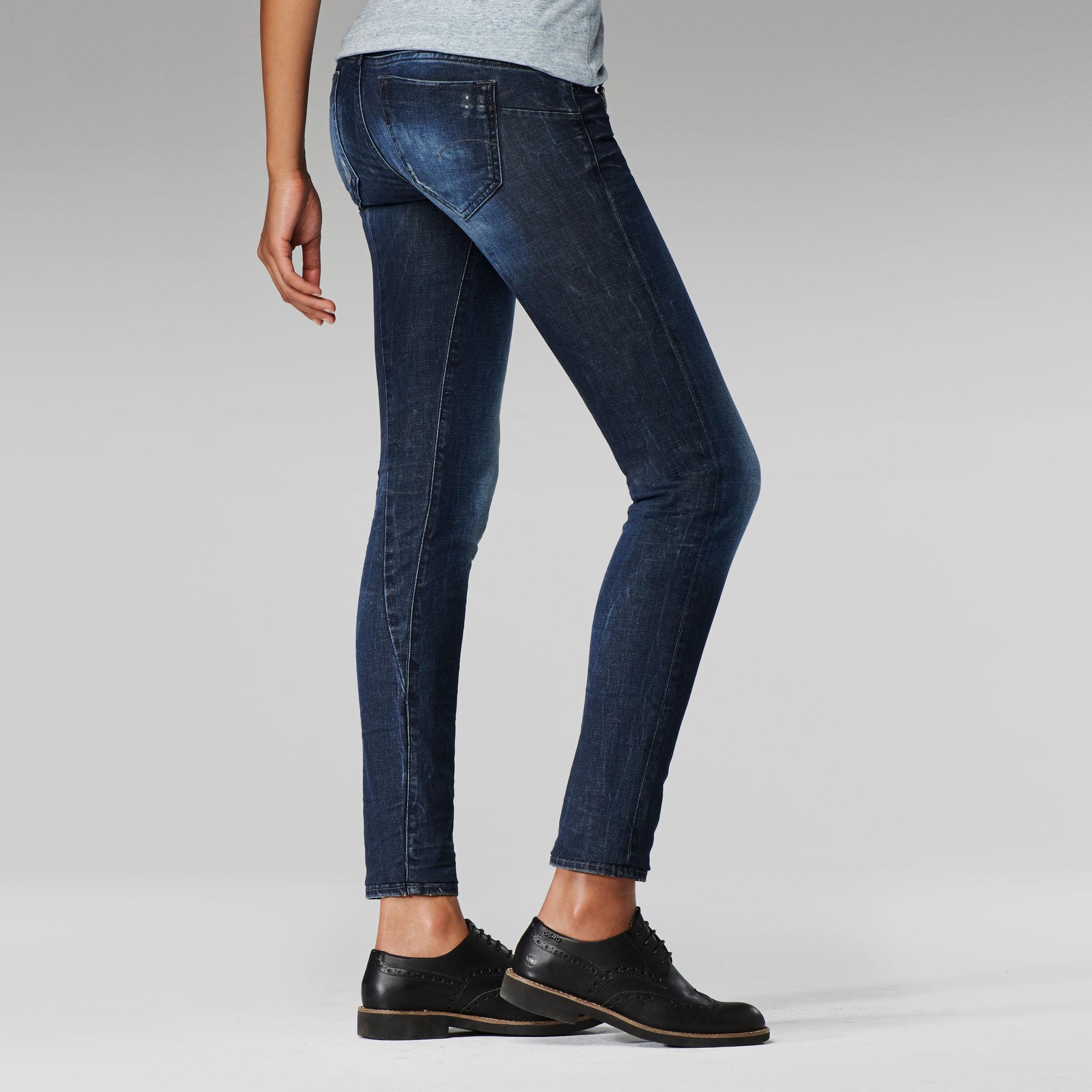 Midge Sculpted Low Waist Skinny Jeans