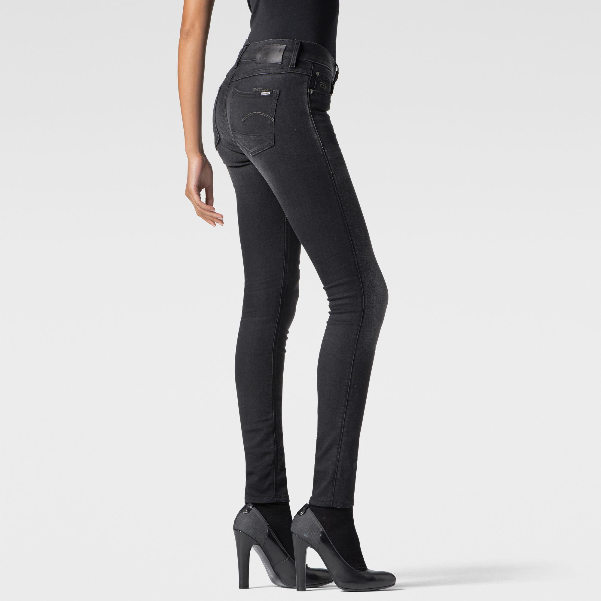 3301 Mid Waist Contour Skinny Jeans