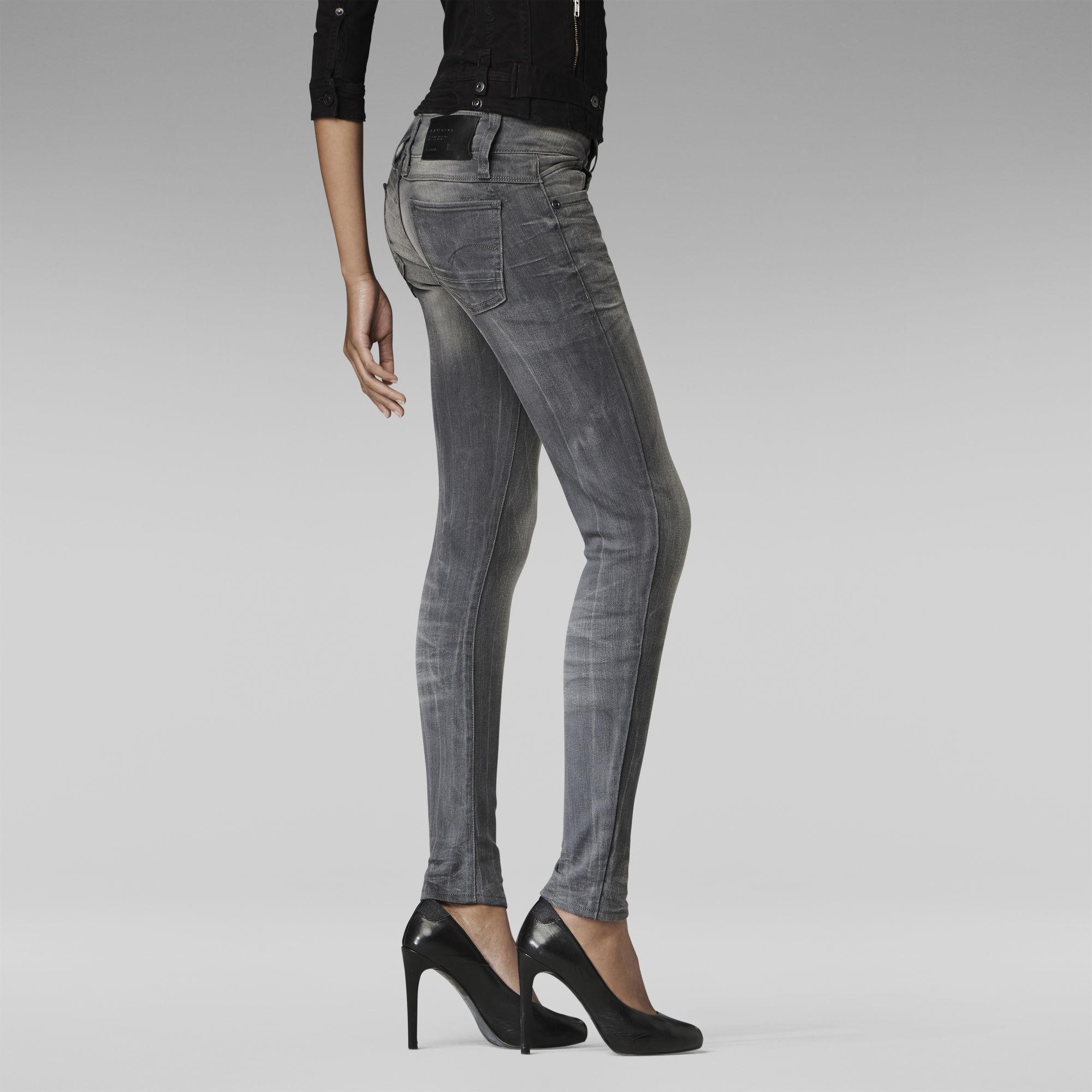 Lynn Zip Skinny Jeans