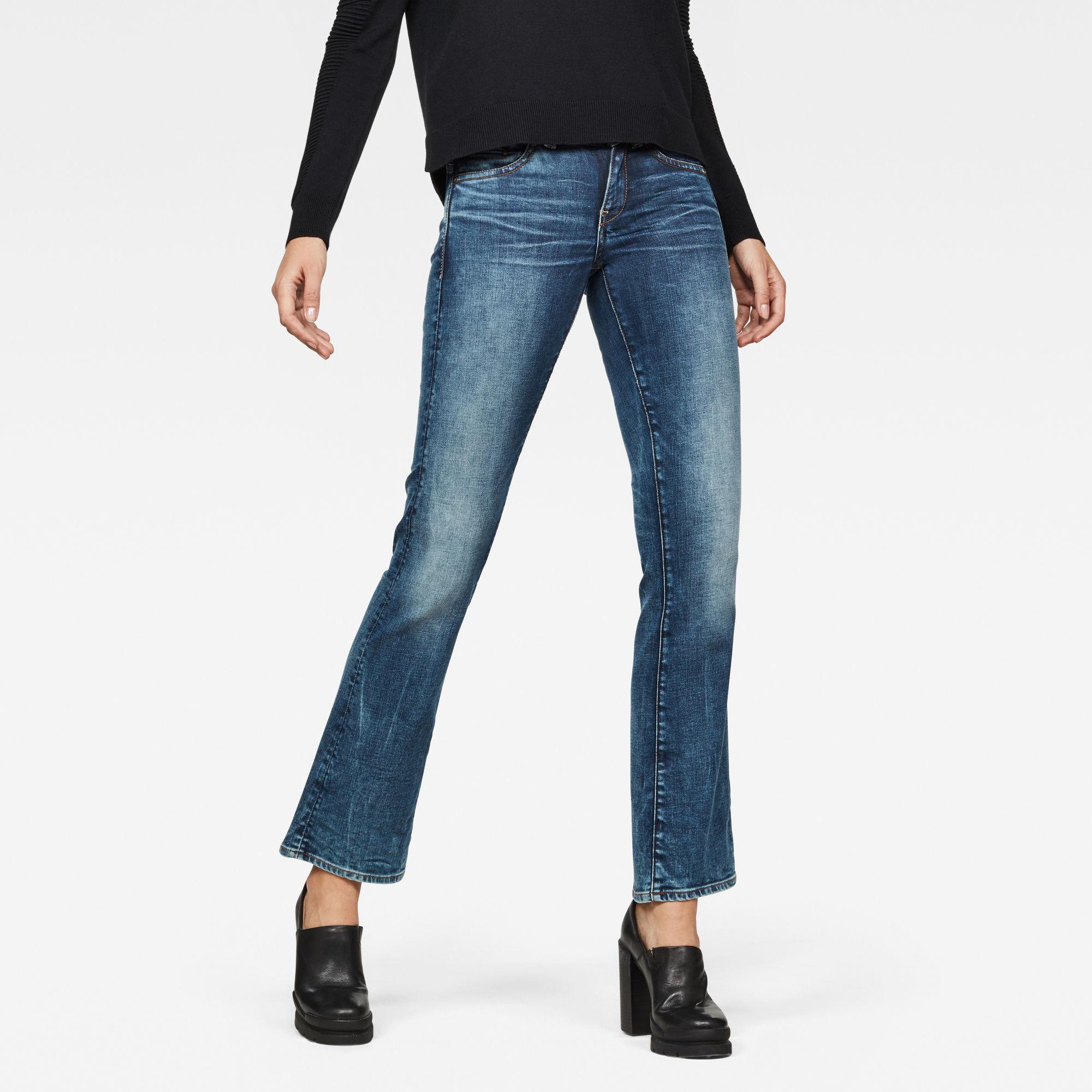 Midge Saddle Mid Waist Skinny Bootcut Jeans Jeans maat 30-30 van G-Star RAW snel en voordelig in huis? Hier lukt het direct