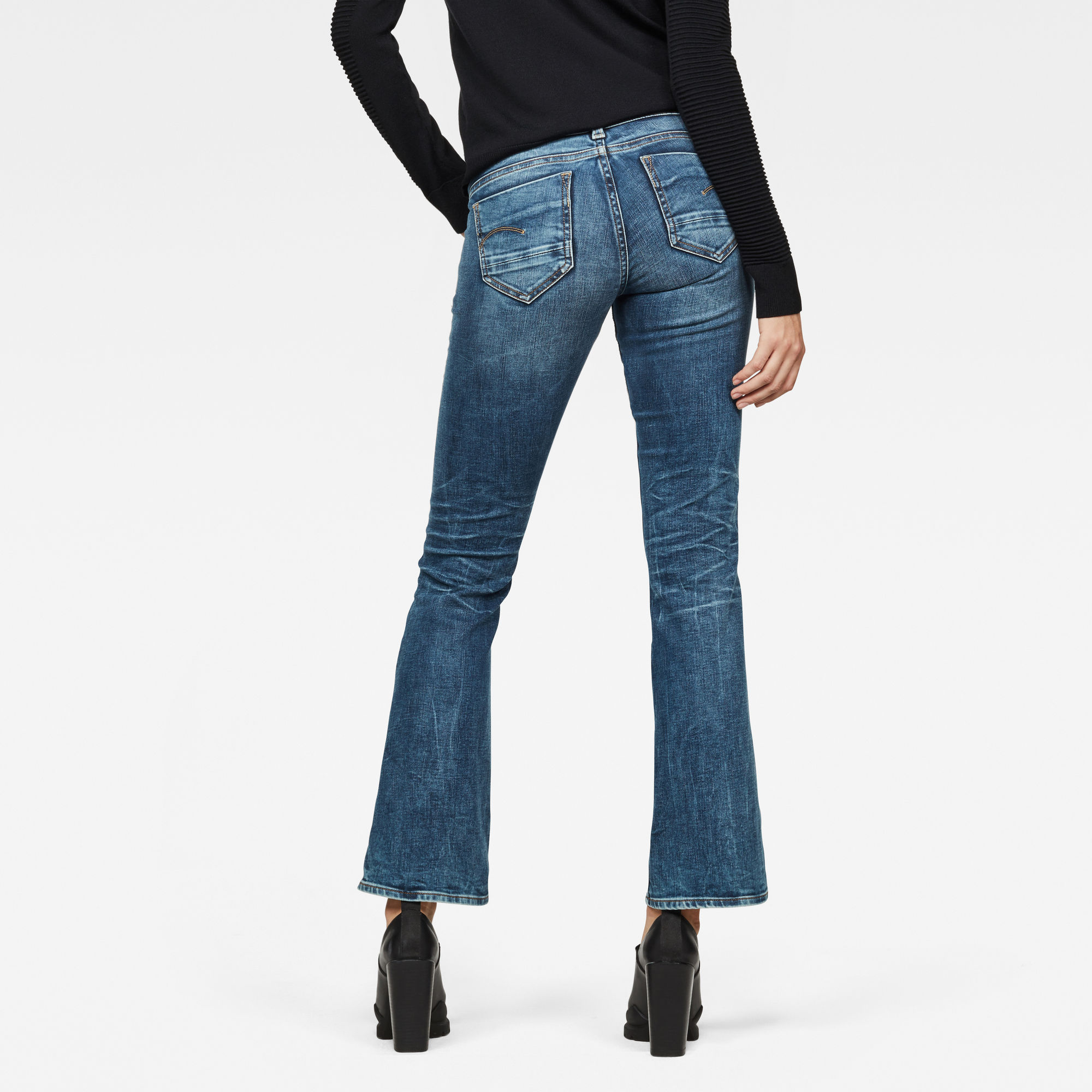 Midge Saddle Mid Skinny Bootcut Jeans Jeans maat 23-32 van G-Star RAW snel en voordelig in huis? Hier lukt het direct