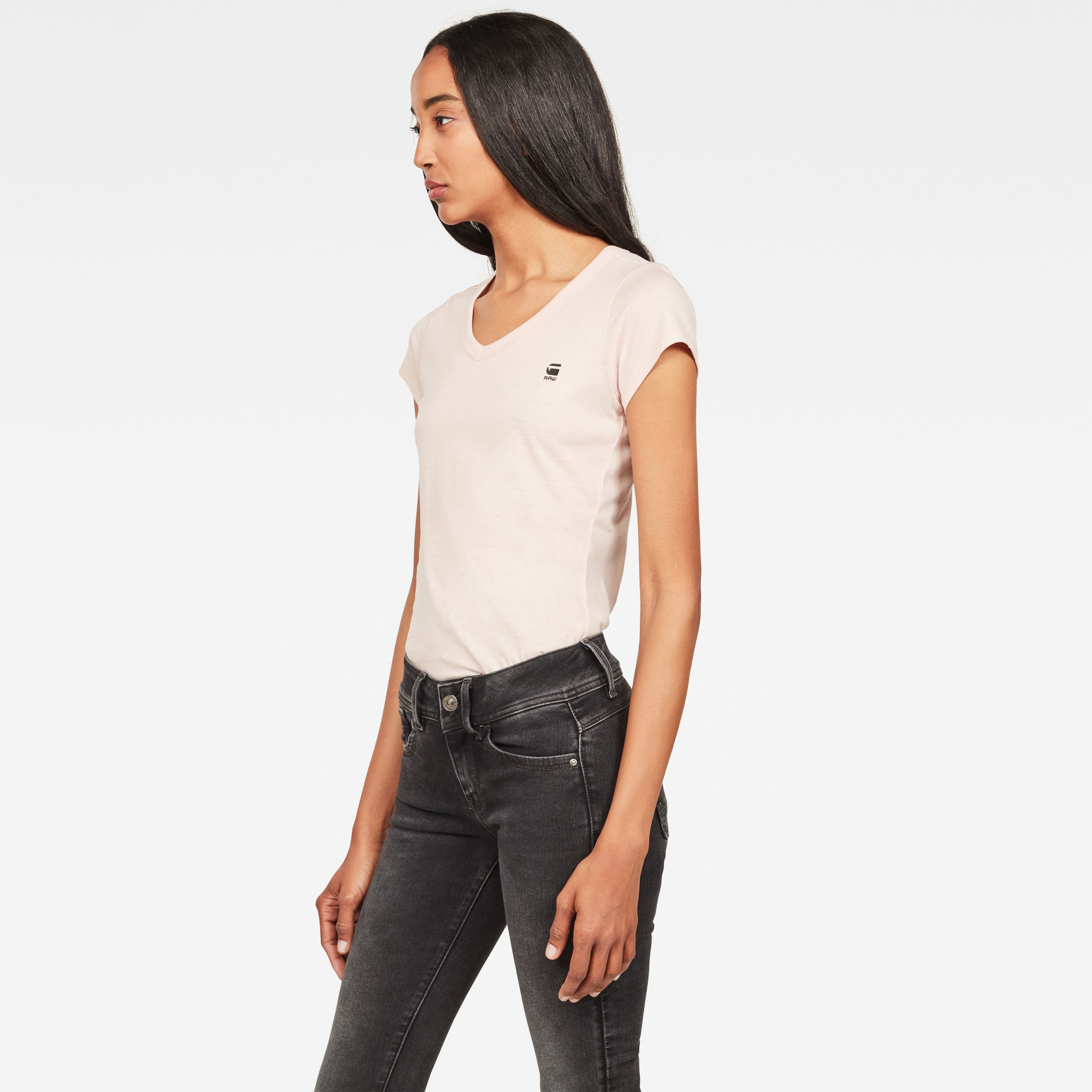 G-Star RAW Eyben Slim V-Neck T-Shirt