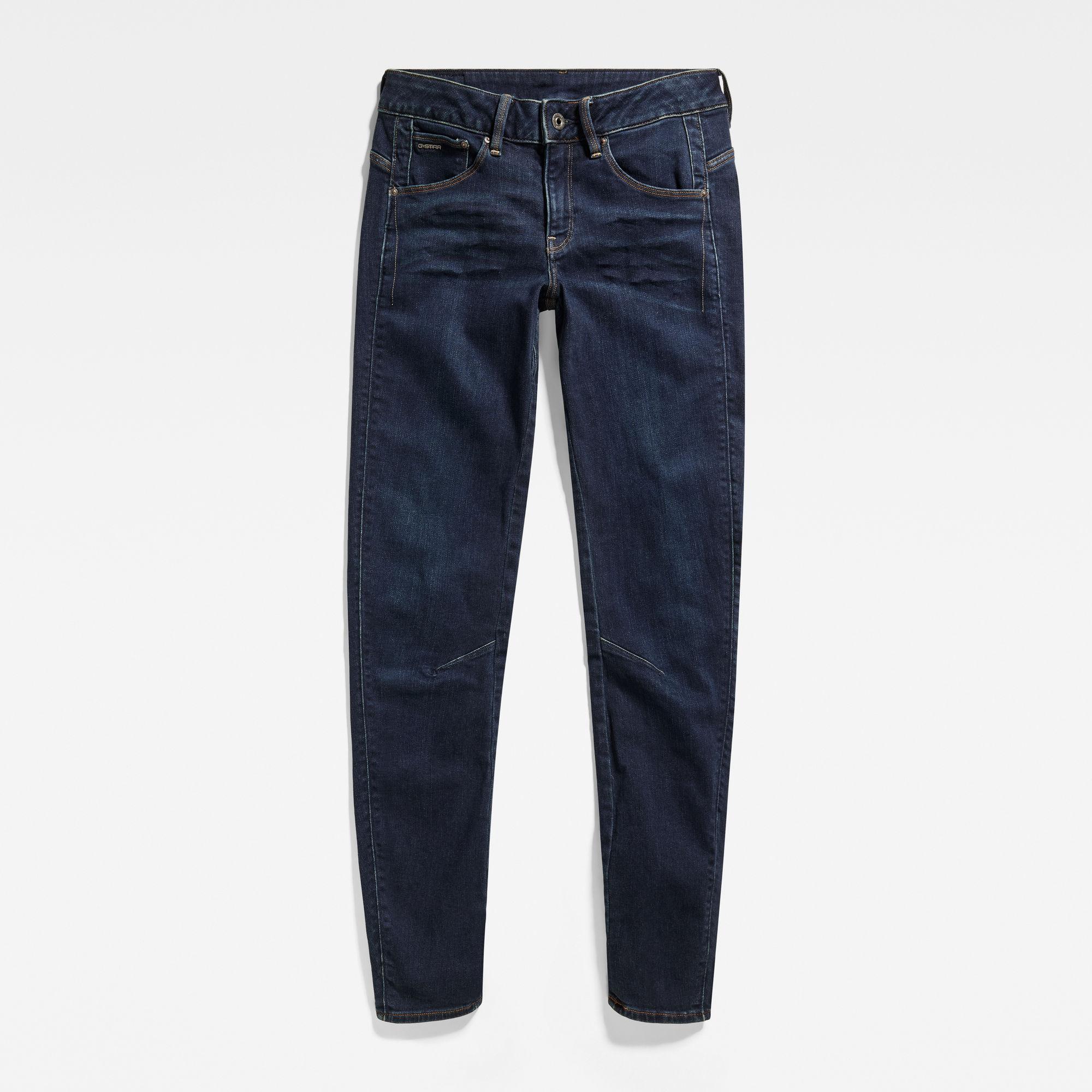 Arc 3D Mid Waist Skinny Jeans