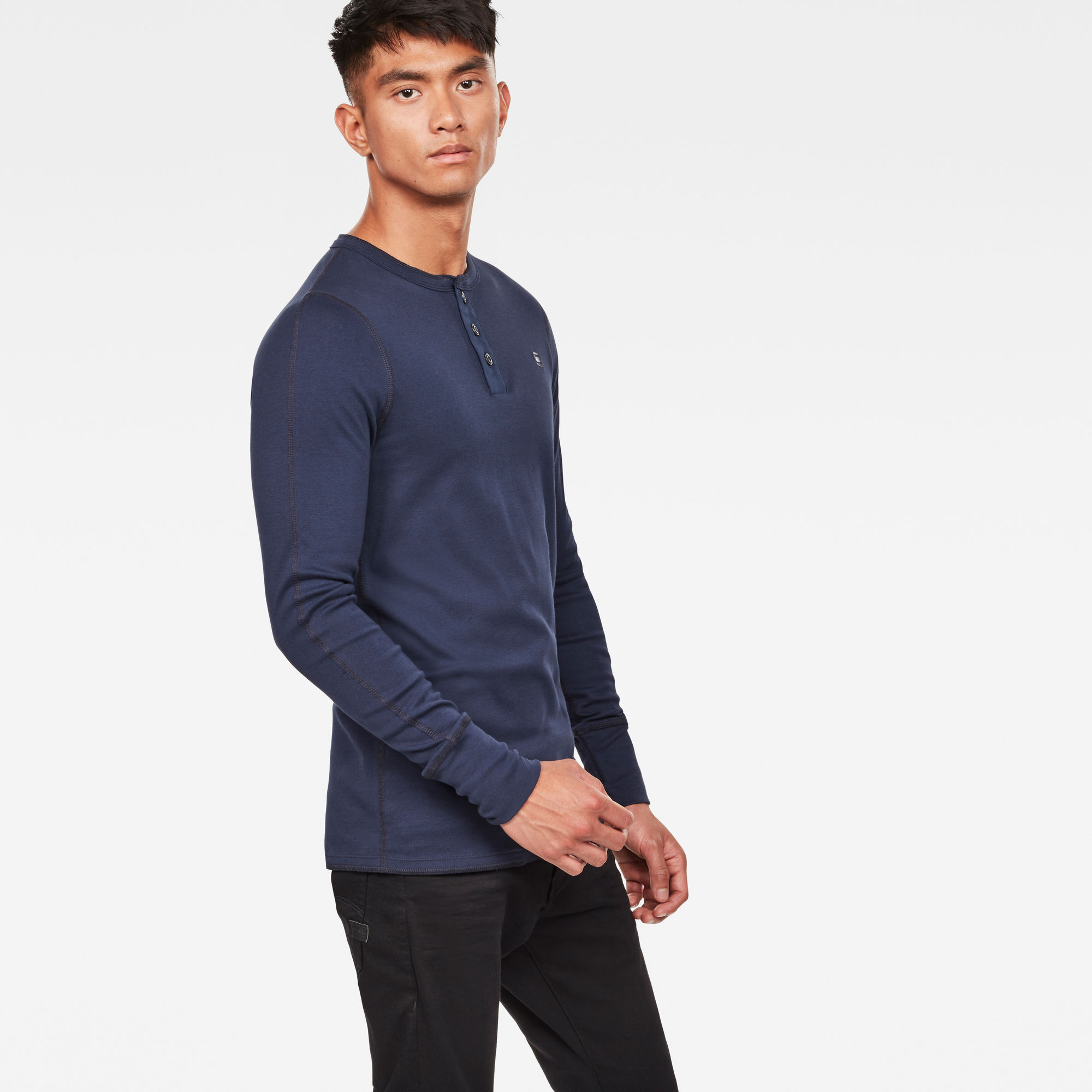 G-Star RAW Korpaz Slim Granddad T-Shirt