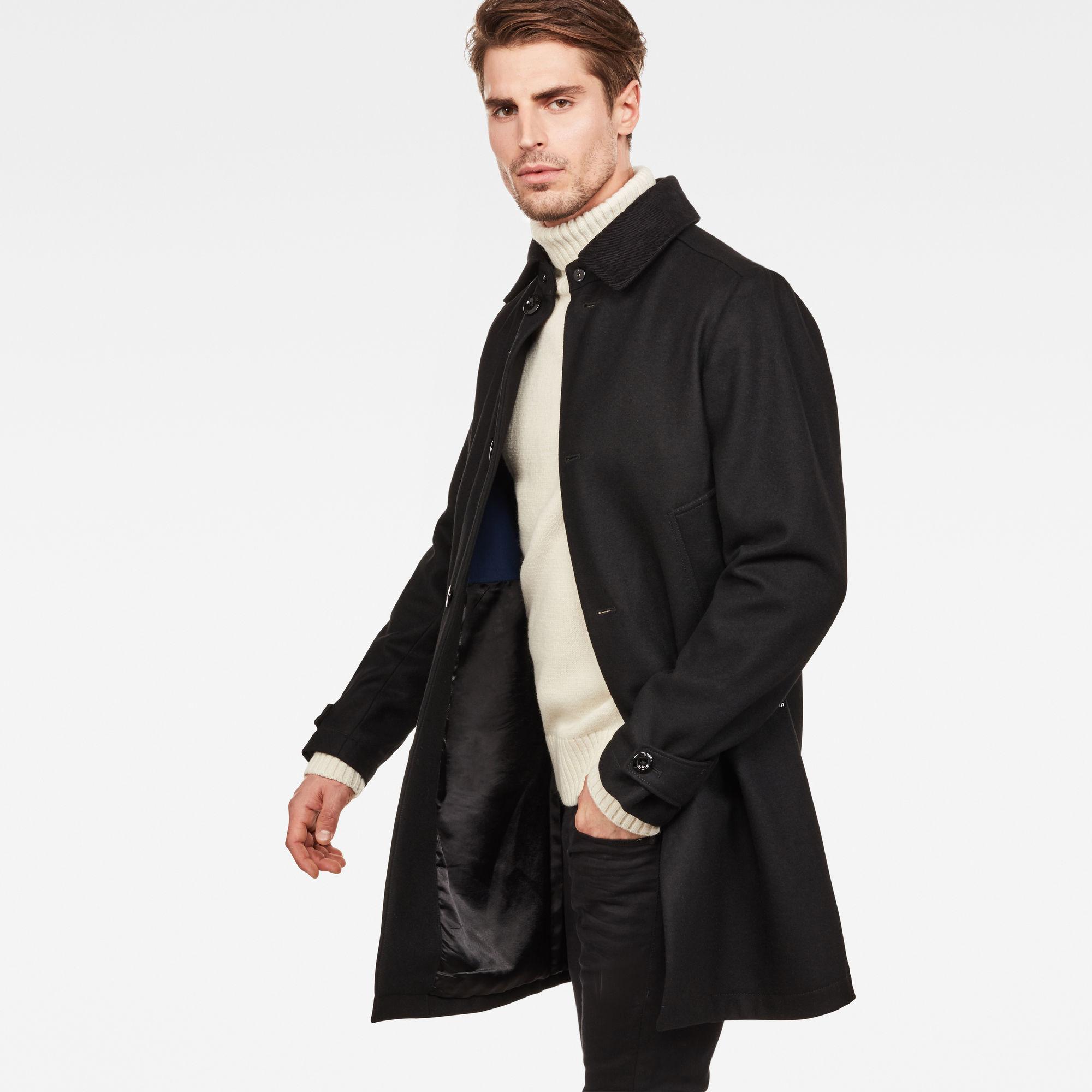 Garber Wool Overcoat