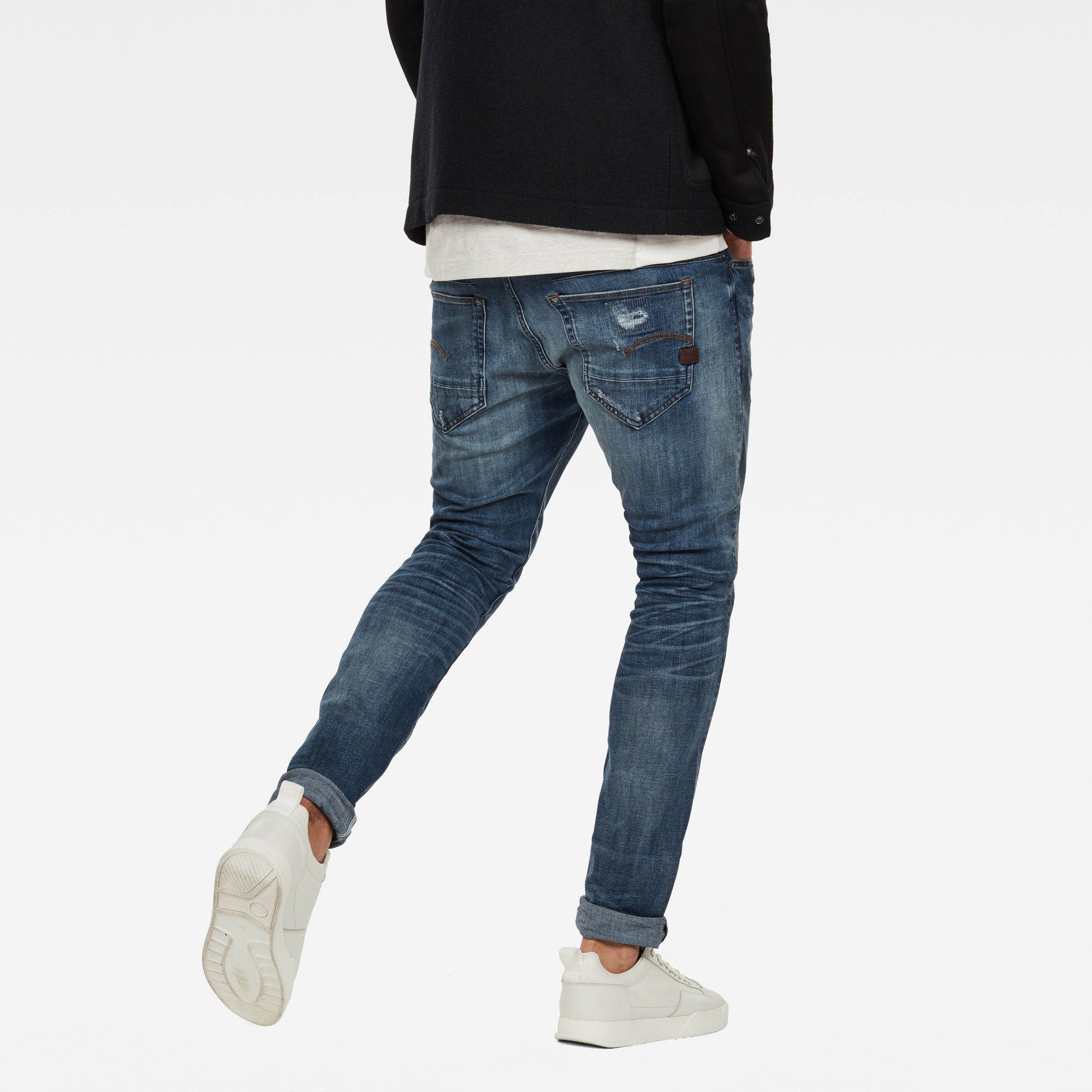 D-Staq 5-Pocket Super Slim Jeans