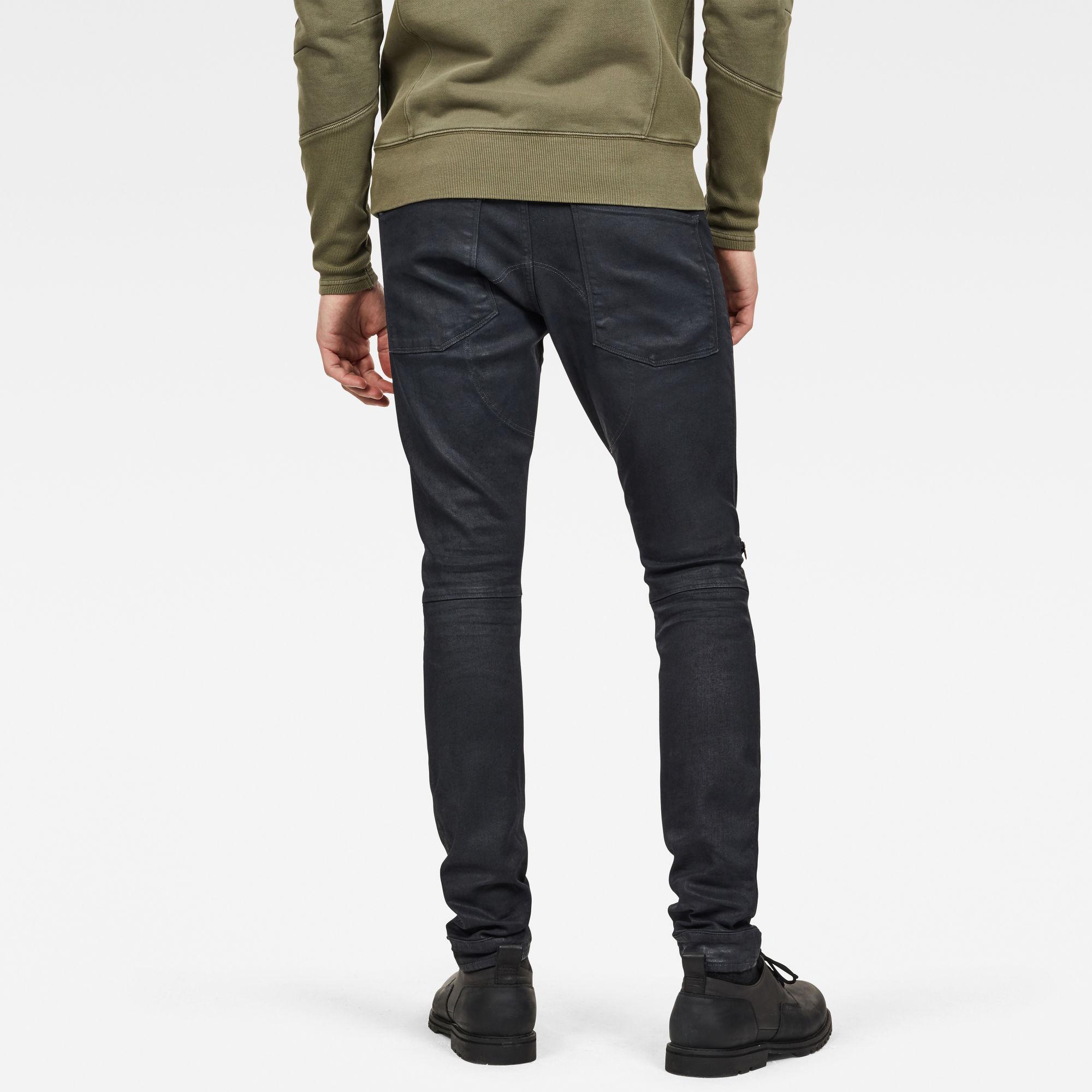G-Star RAW 5620 G-Star Elwood 3D Zip Knee Skinny Jeans