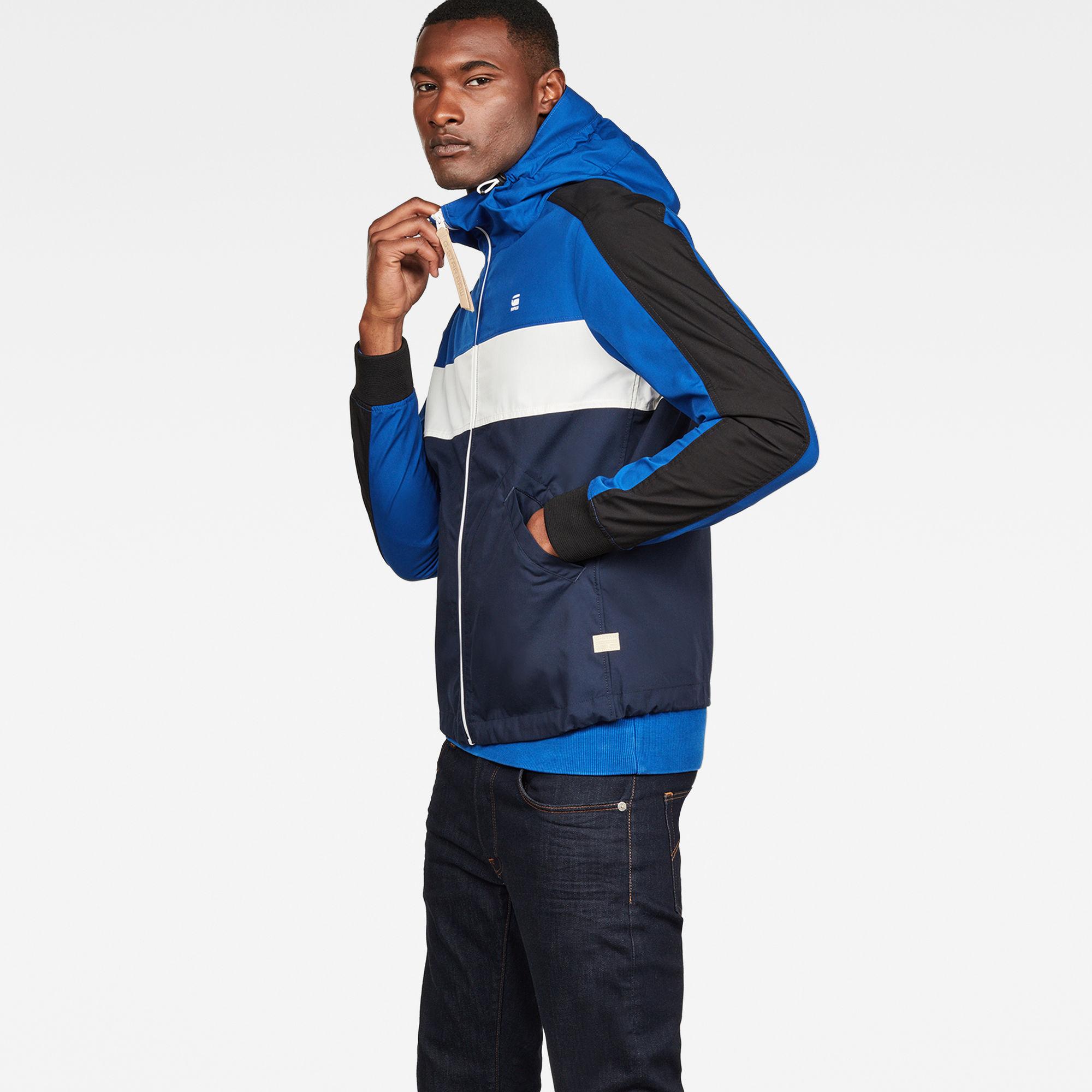 Setscale Color Block Hooded Jacket