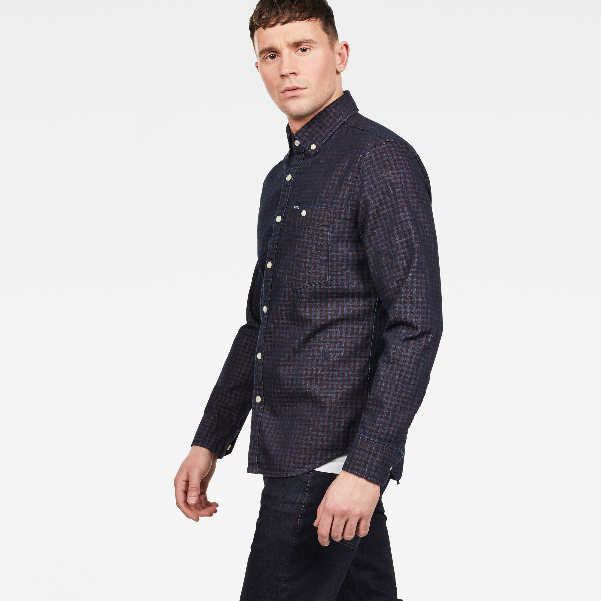 G-Star RAW Core Button Down 1 Pocket Slim Overhemd