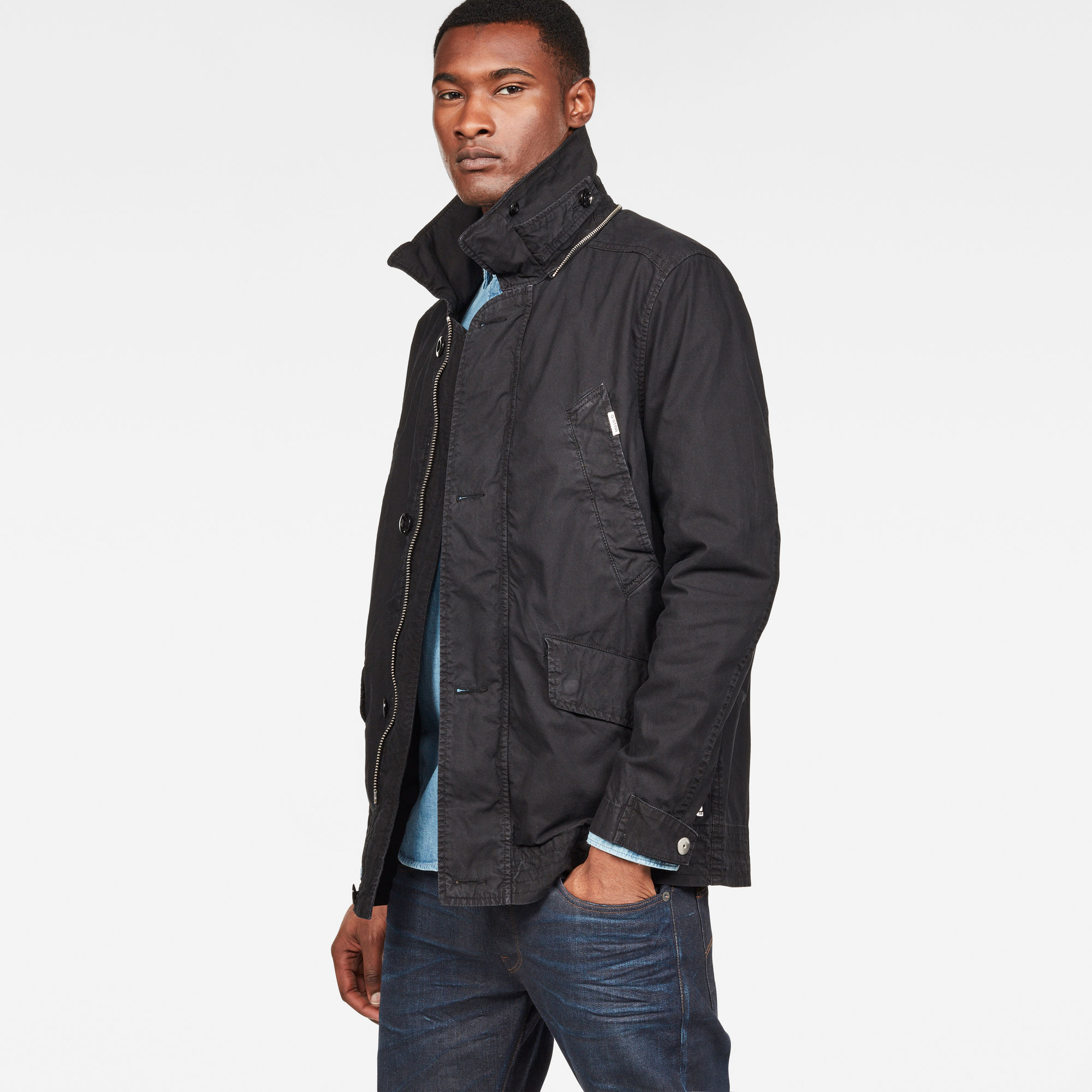 Vodan Caban Hooded Jacket