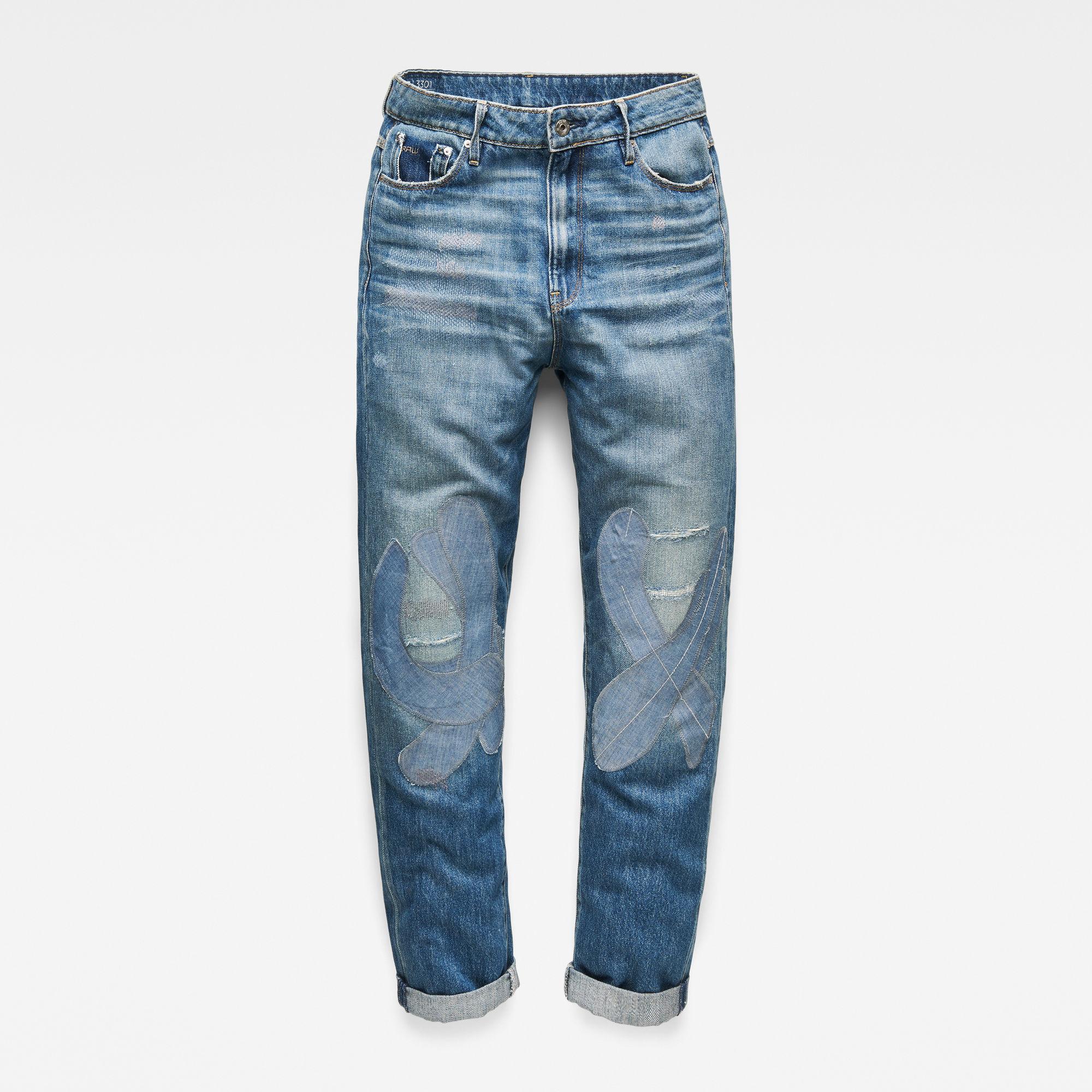 3301 High Boyfriend Tape Restored Jeans