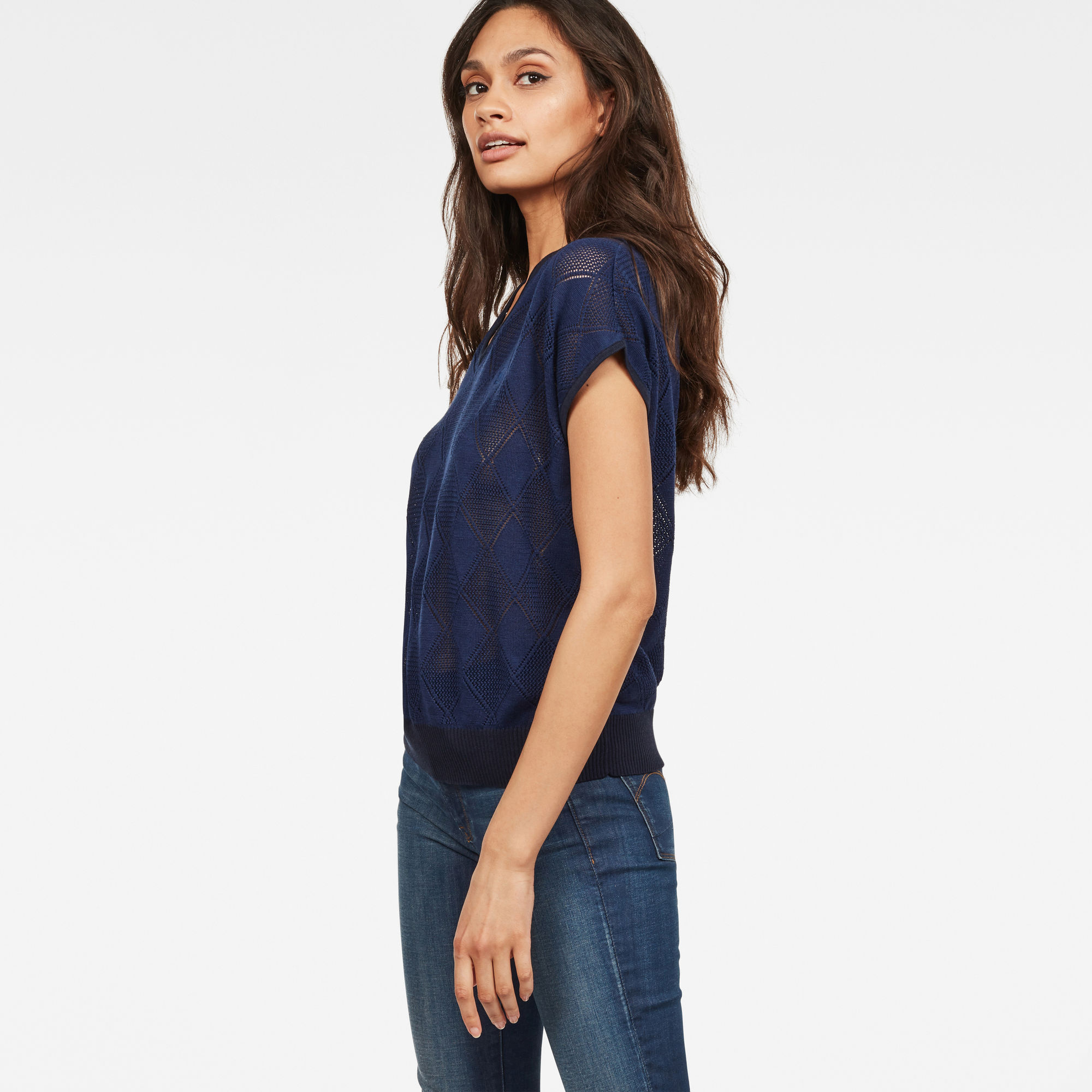 G-Star RAW Pointelle Shirt