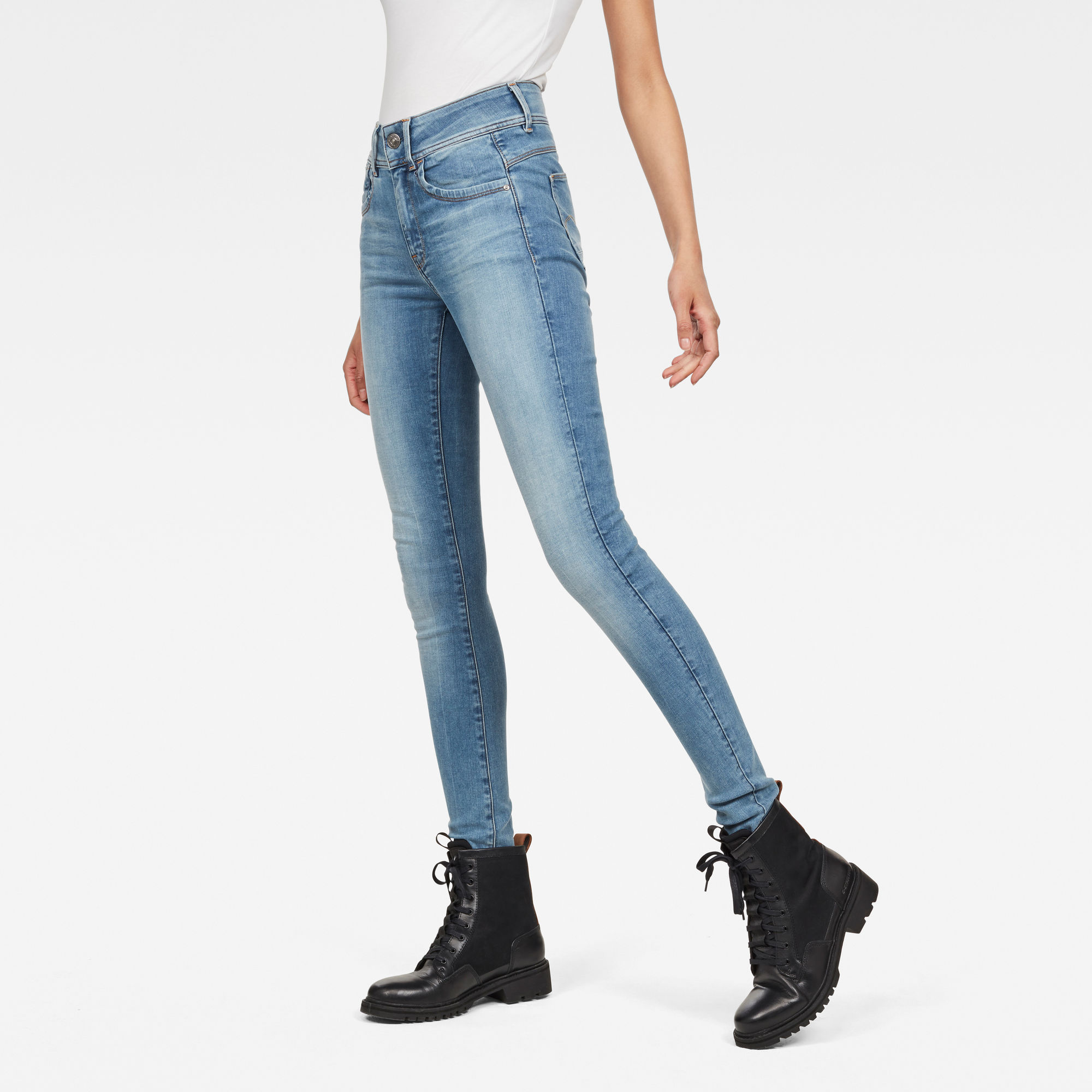 Van G Star Raw Lynn High Super Skinny Jeans Prijsvergelijk nu!