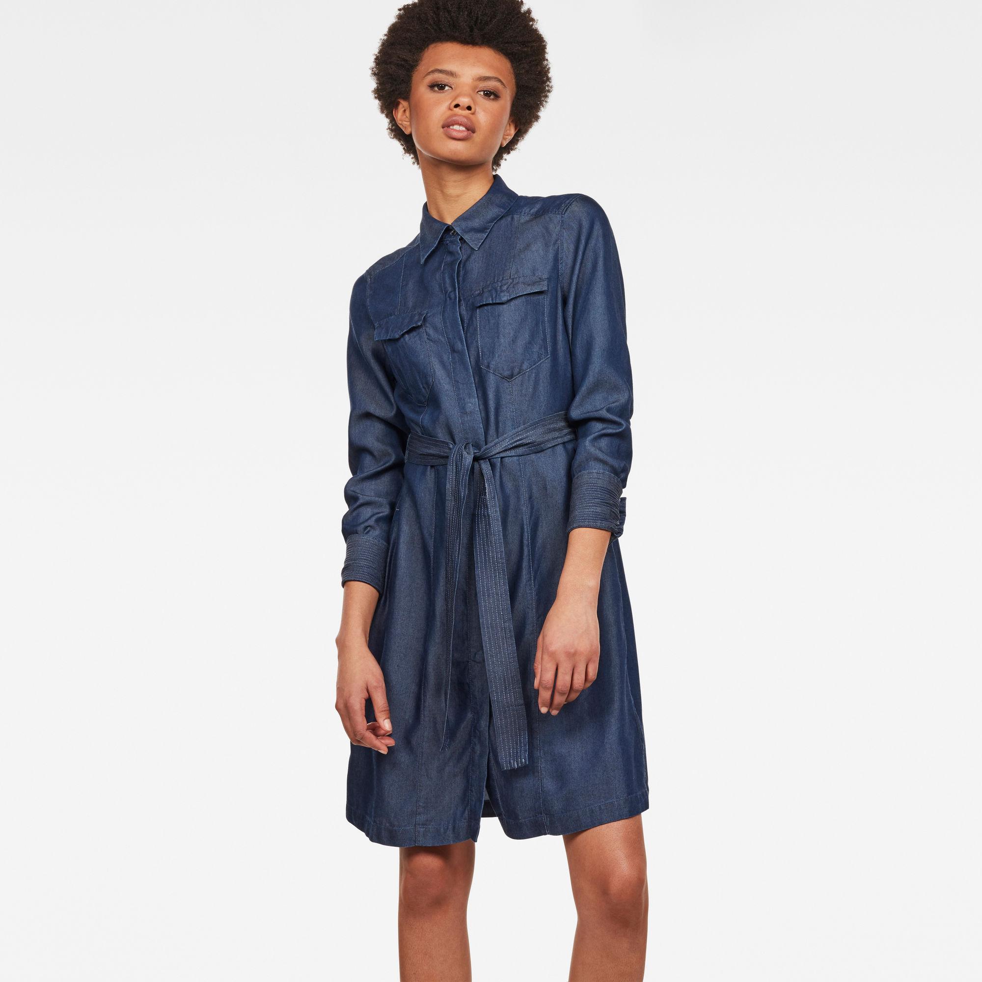 Tacoma Straight Flare Shirt Dress Jurken maat XXS van G-Star RAW snel en voordelig in huis? Hier lukt het direct