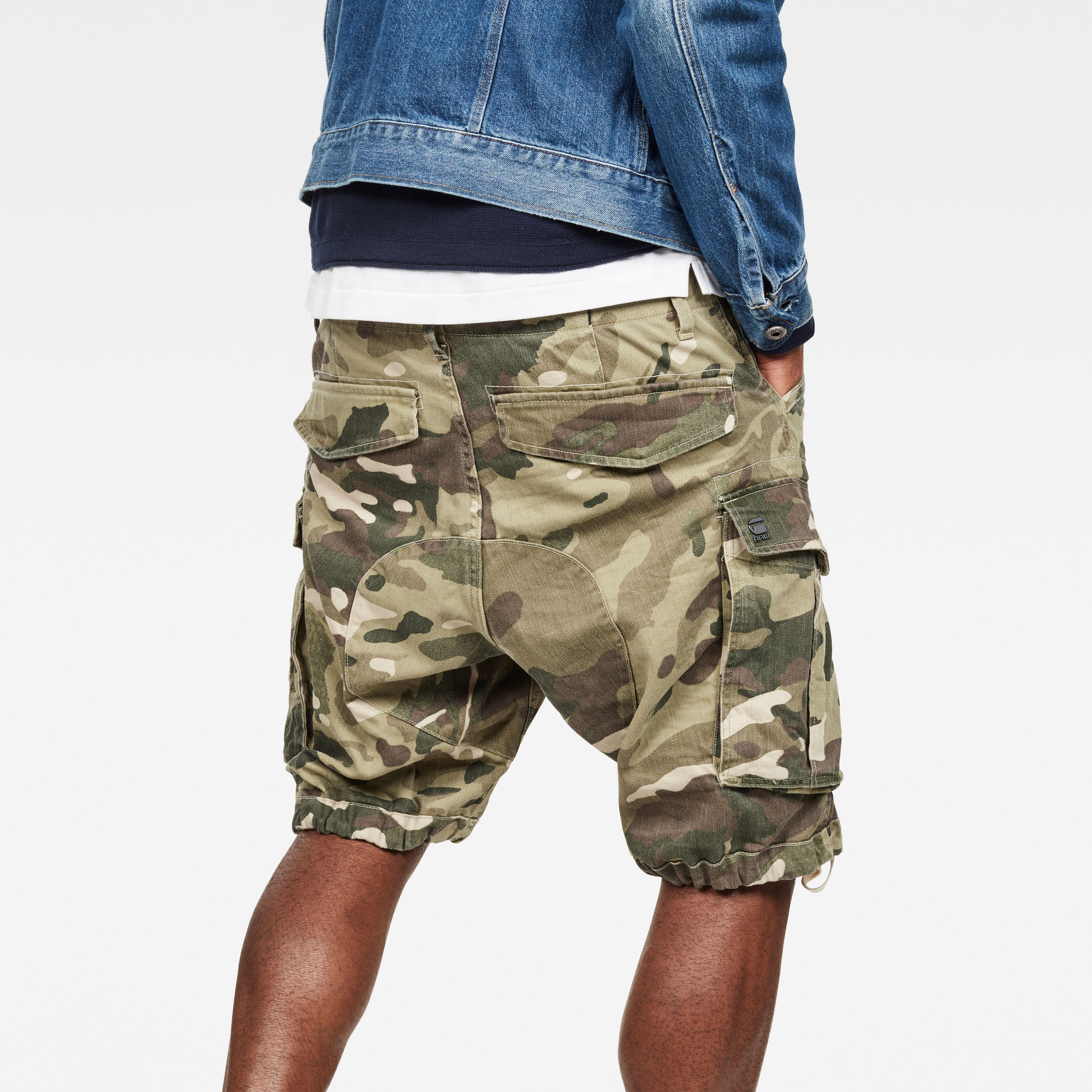 Rovic Nozzle Camo Relaxed Short