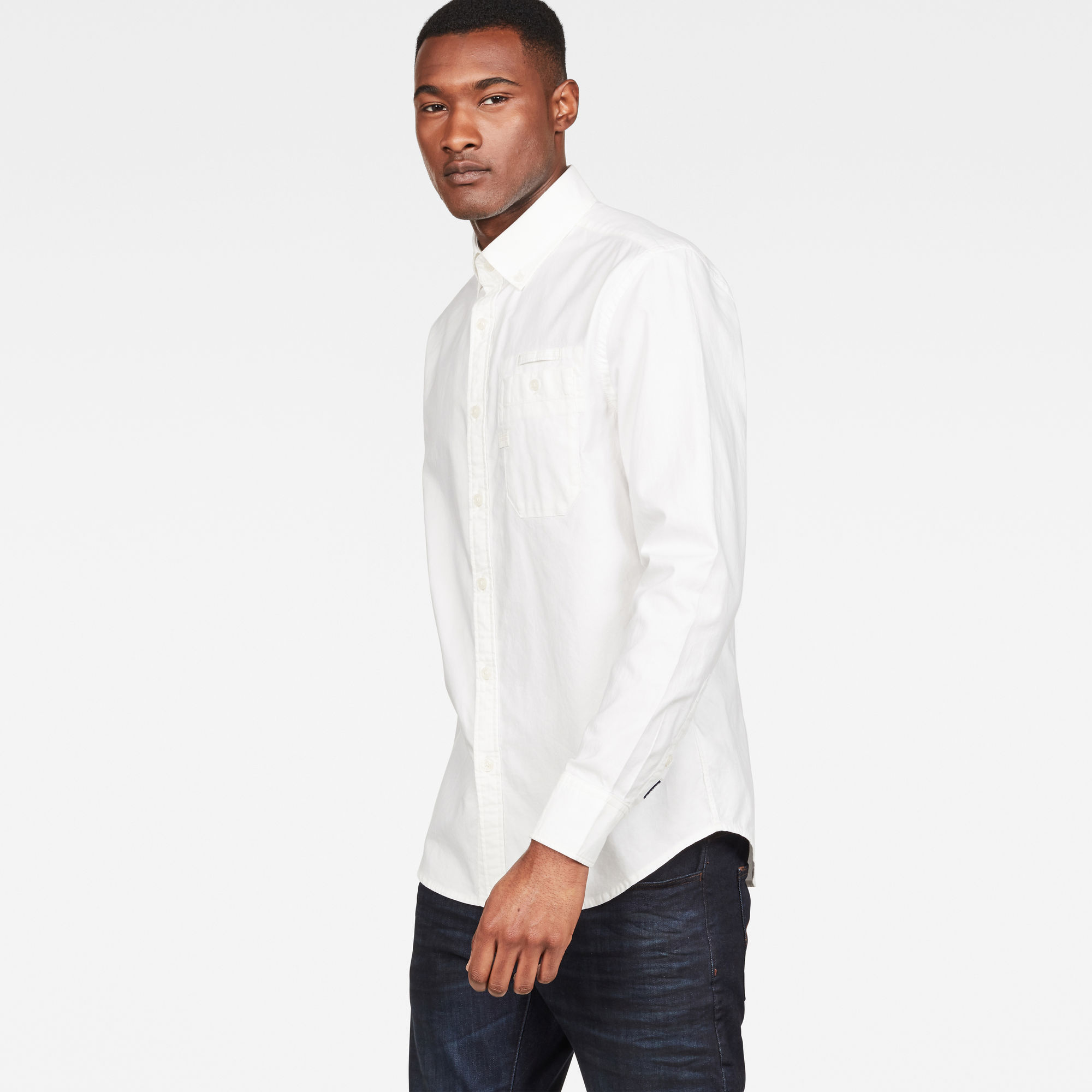 G-Star RAW Bristum Button Down Slim Overhemd