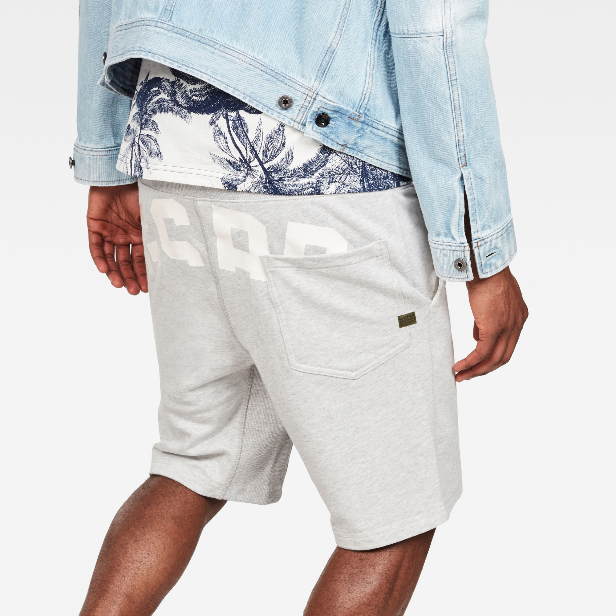 G-Star RAW Bolt Graphic Relaxed Sweatshort