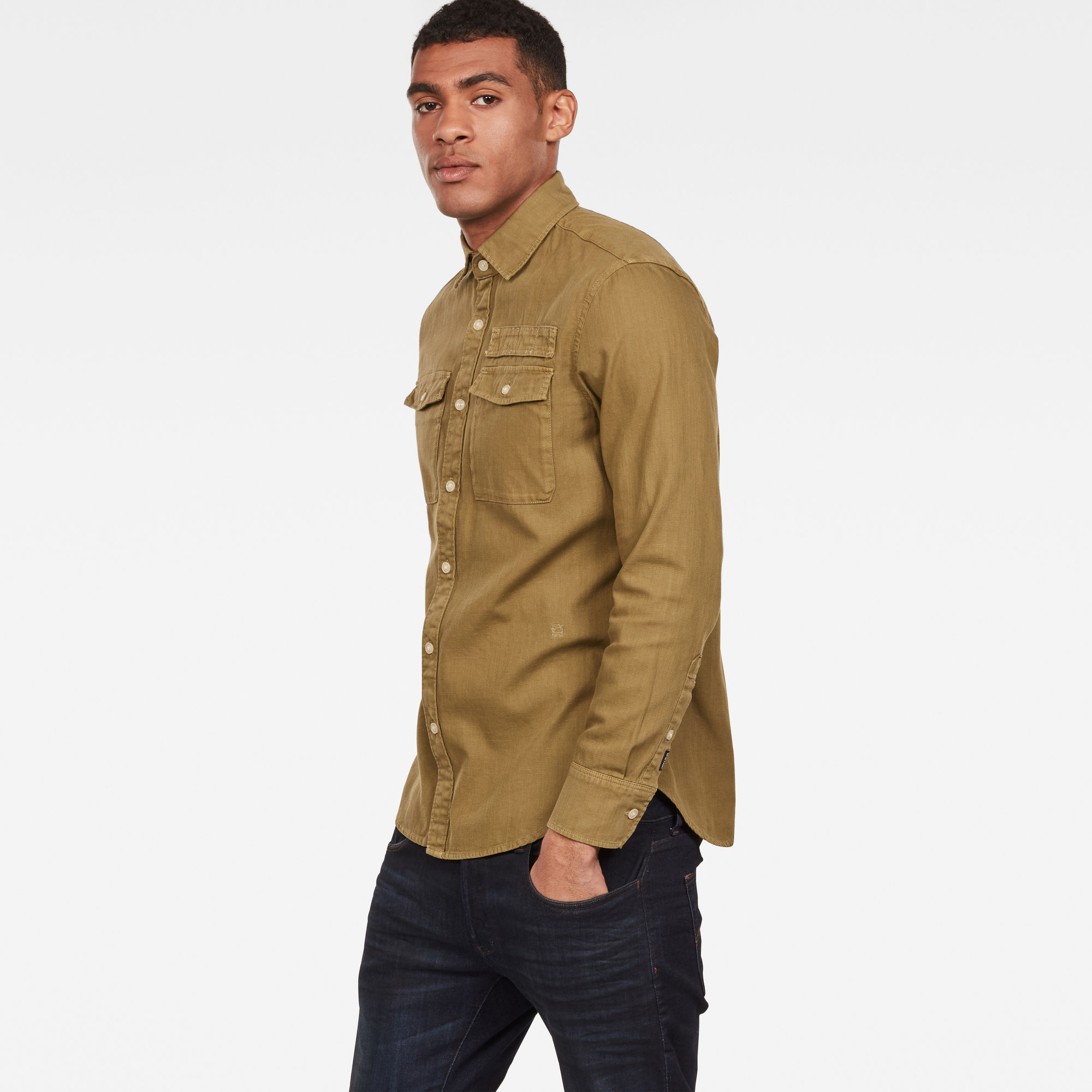 G-Star RAW Lepton Slim Overhemd
