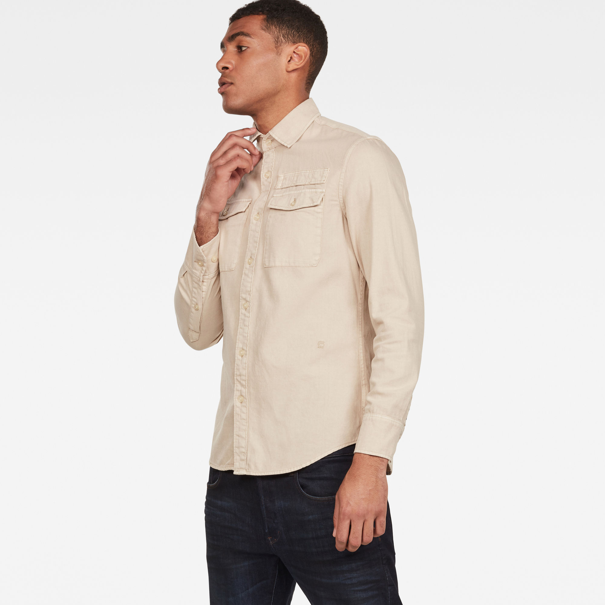G-Star RAW Lepton Slim Overhemd