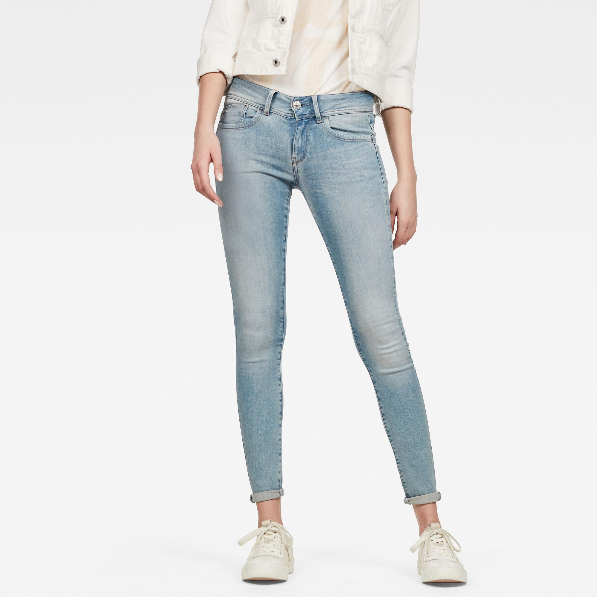 Van G Star Raw Lynn D-Mid Super Skinny Jeans Prijsvergelijk nu!