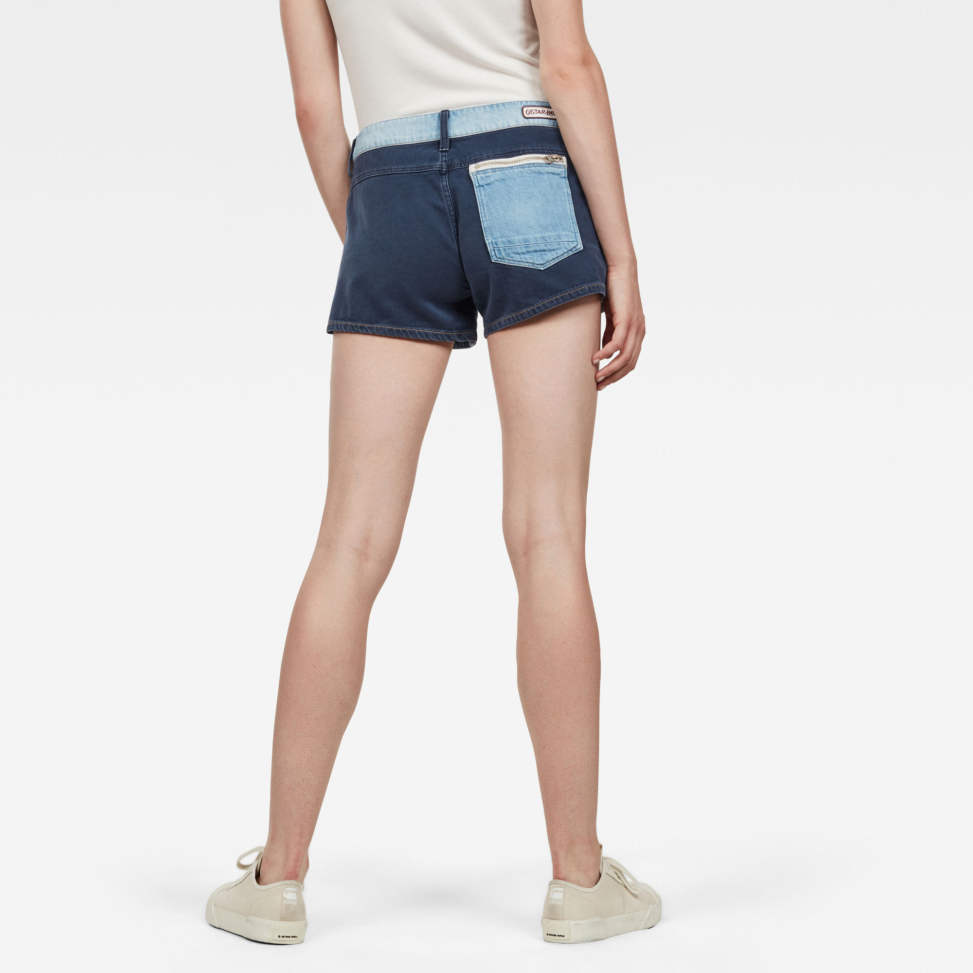 G-Star RAW Faeroes Zip Mid Boyfriend Short