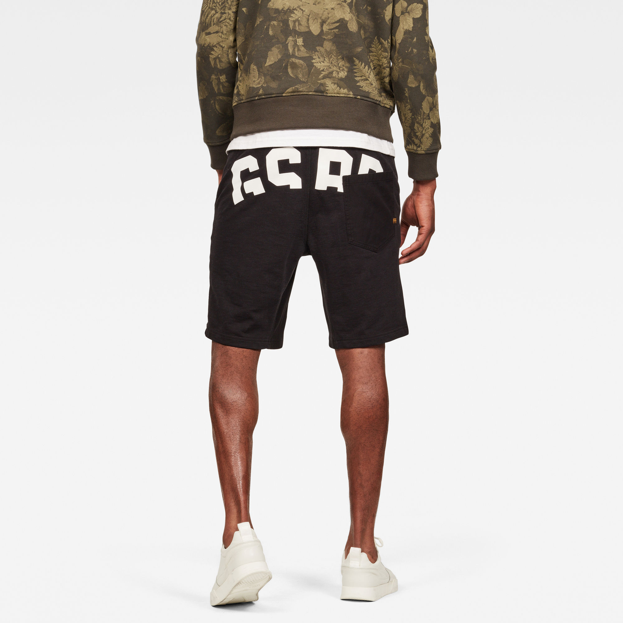 G-Star RAW Bolt Graphic Relaxed Sweat Short