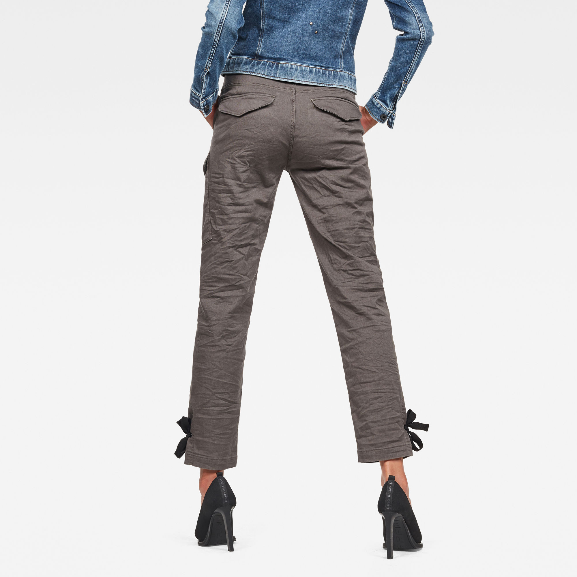 G-Star RAW Blossite High Straight Cargo Broek