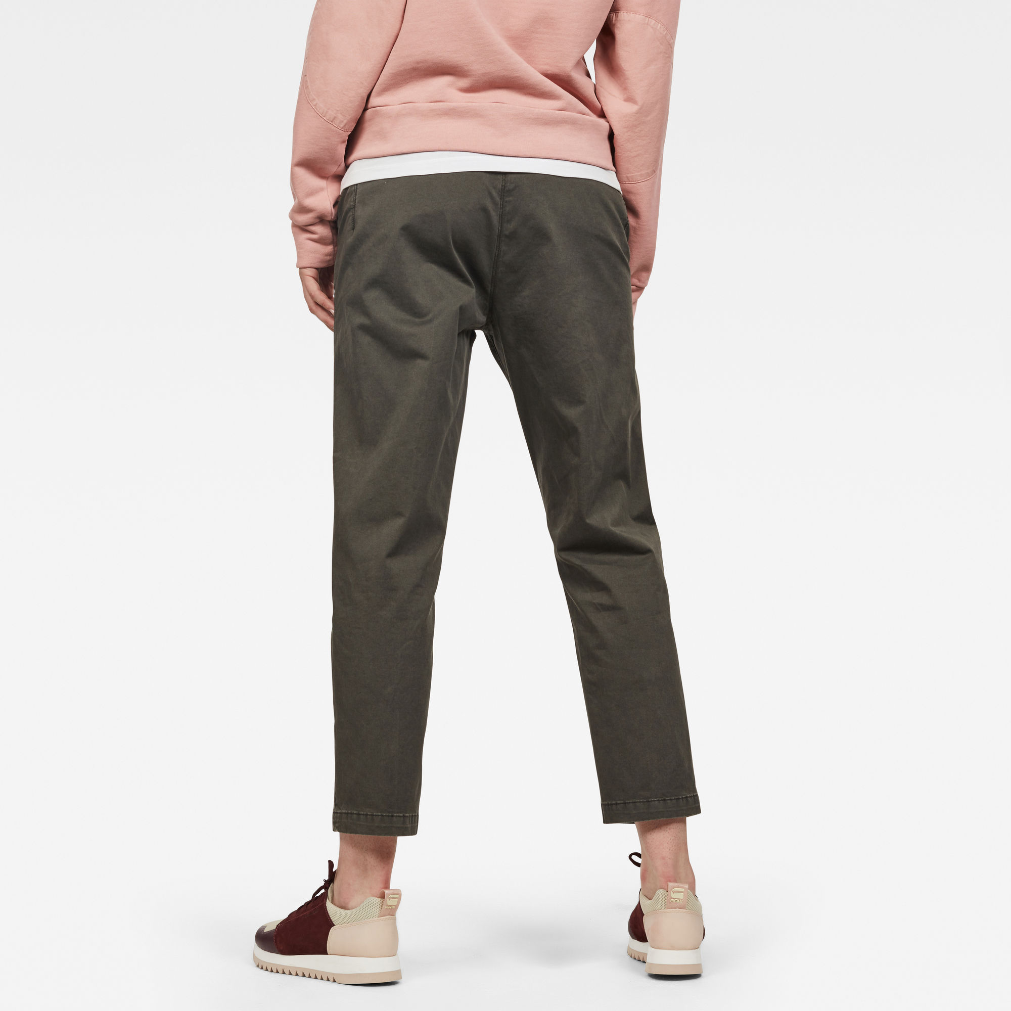 Page Mid Boyfriend Ankle Chino