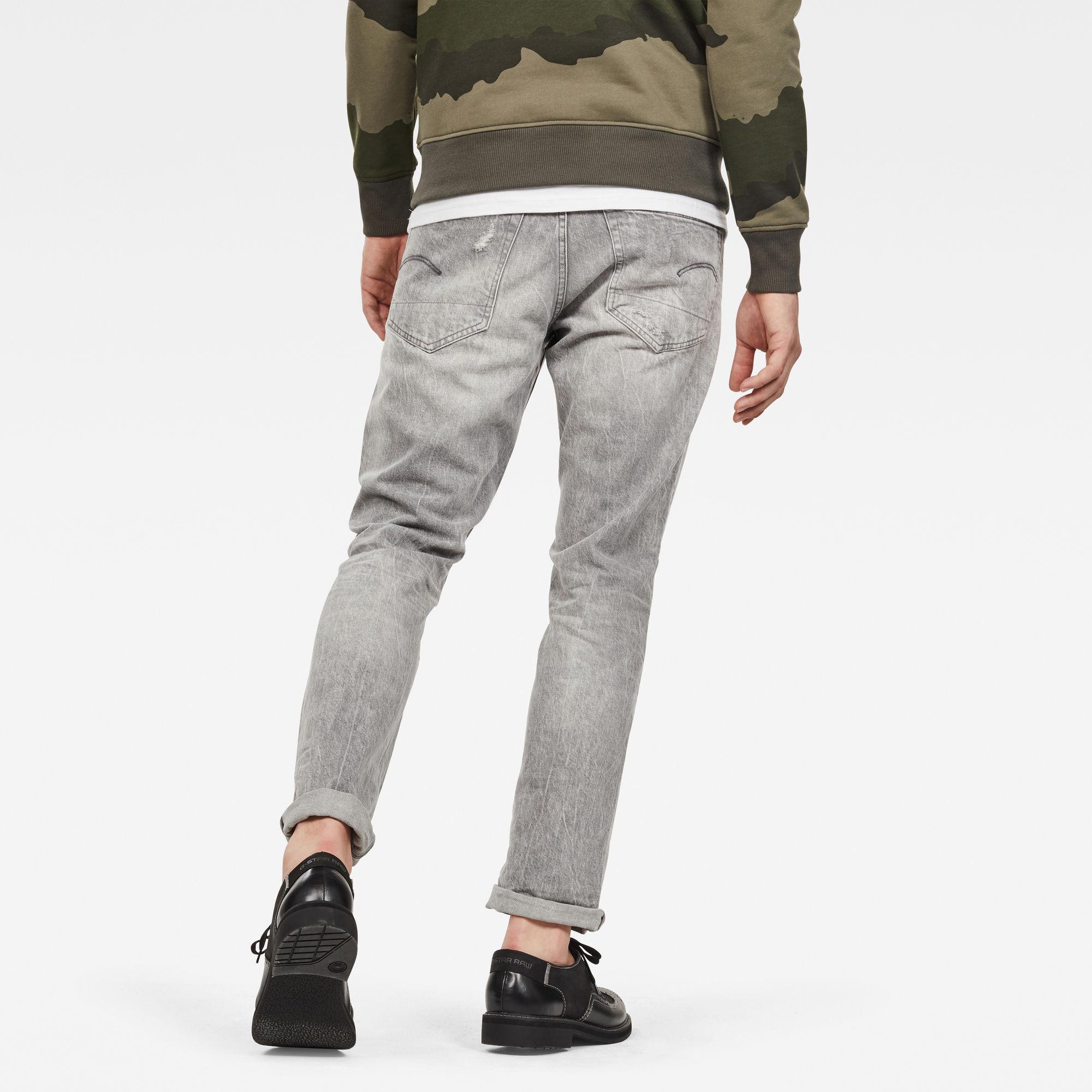 3301 Straight Jeans kopen Grijs