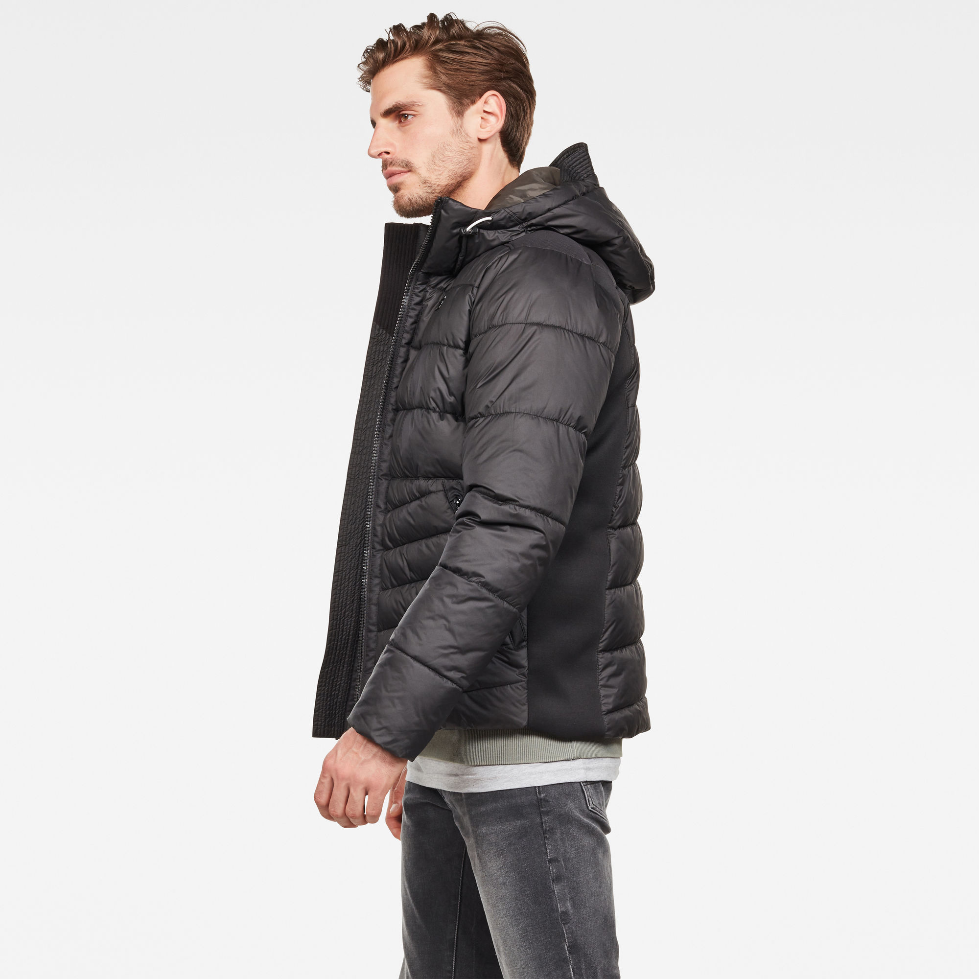 G-Star RAW Motac Quilted Hooded Jacket