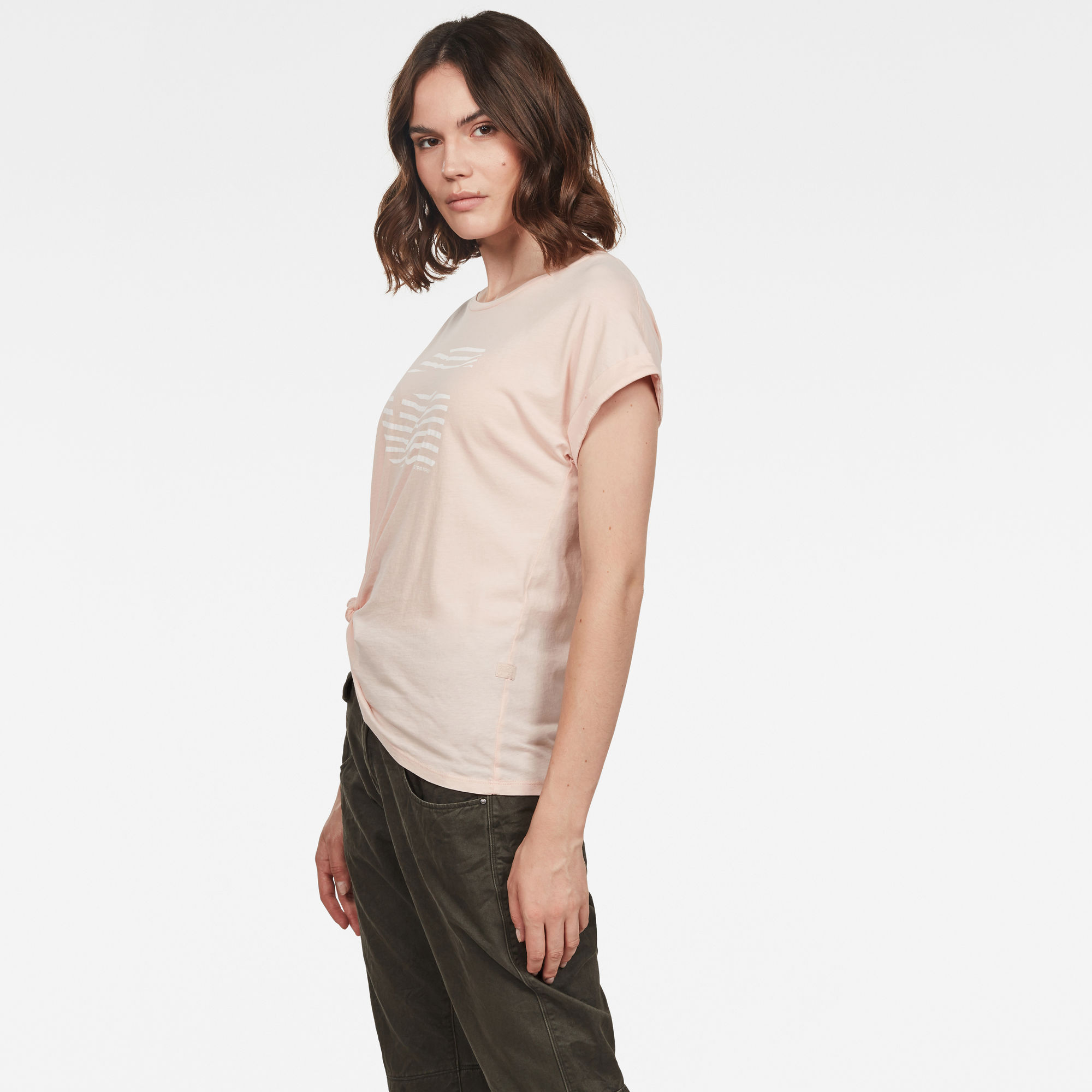 Graphic 23 Caper Knotted Top