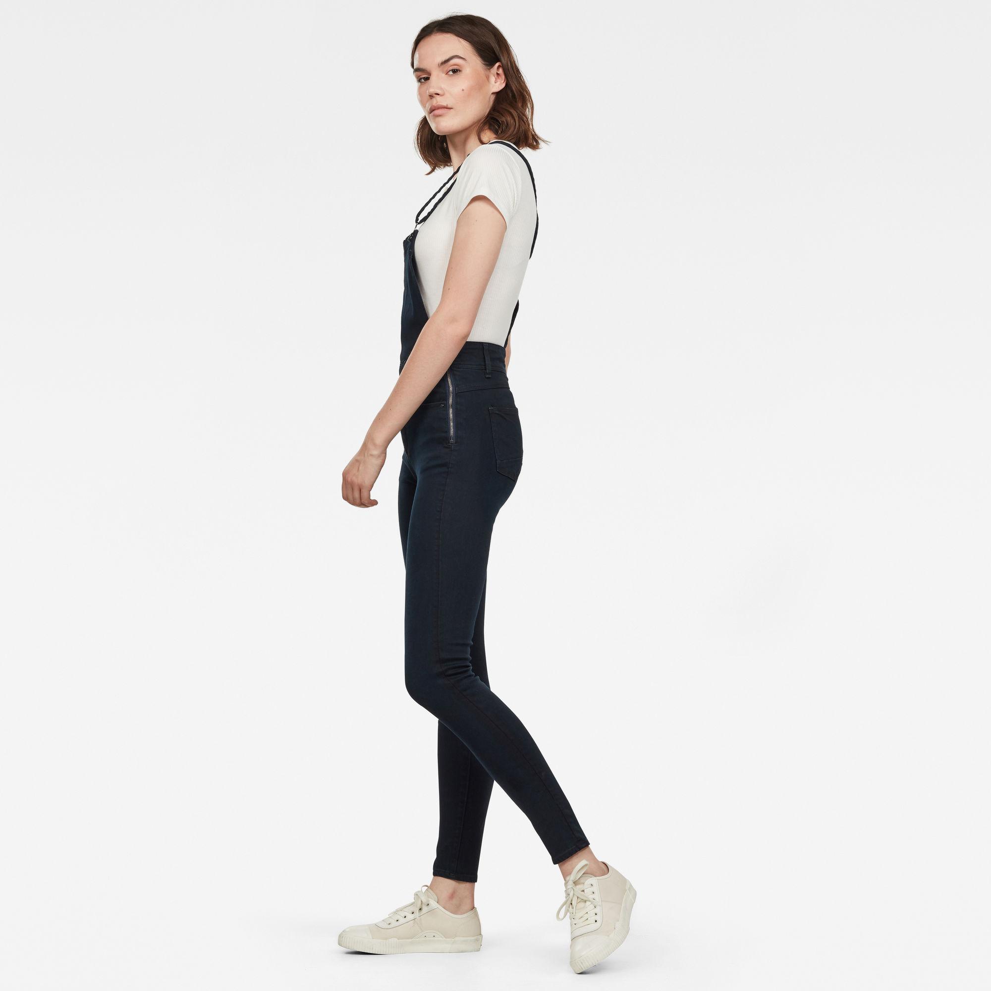 Lynn High Waist Skinny Overal