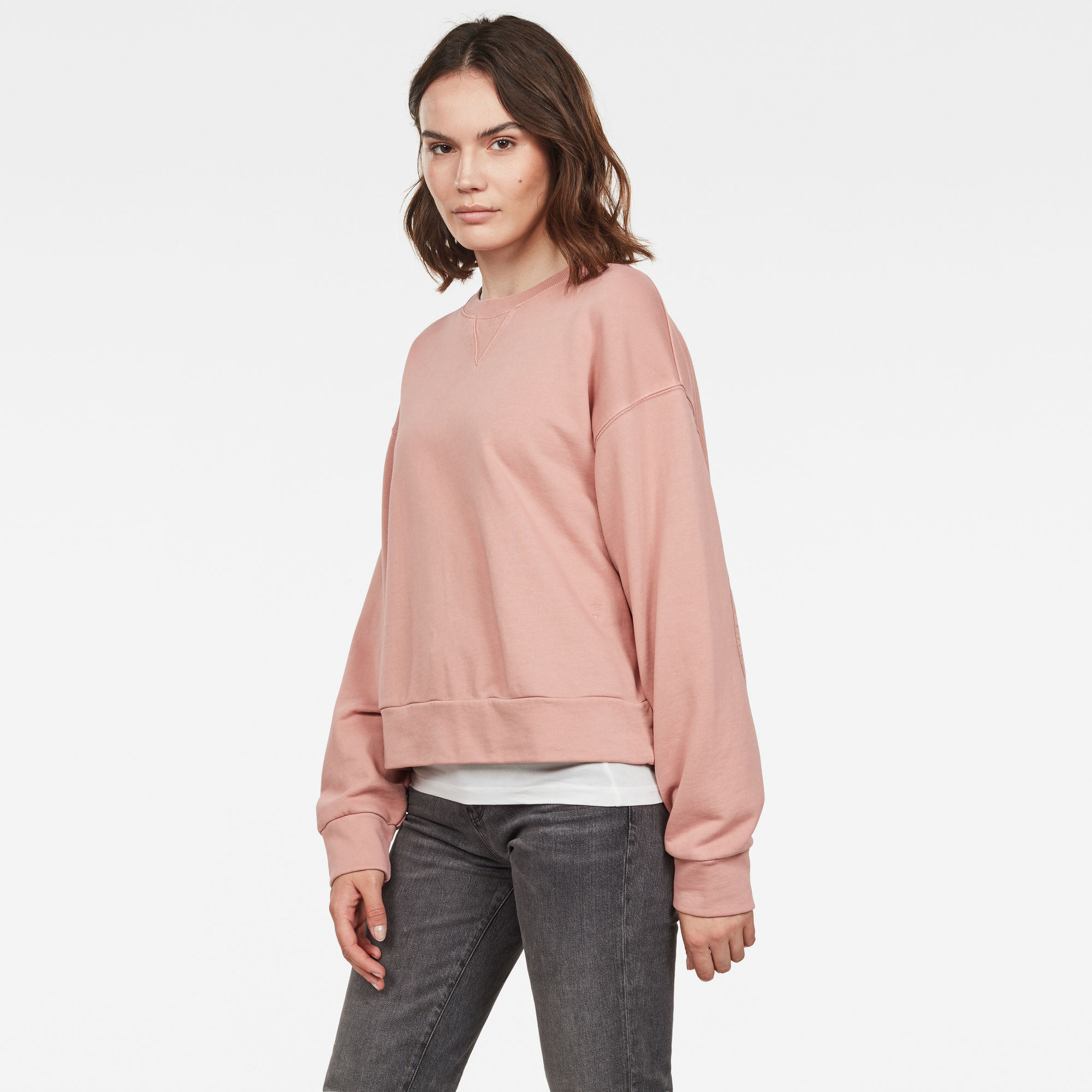 Earth Loose Ronde Hals Sweater