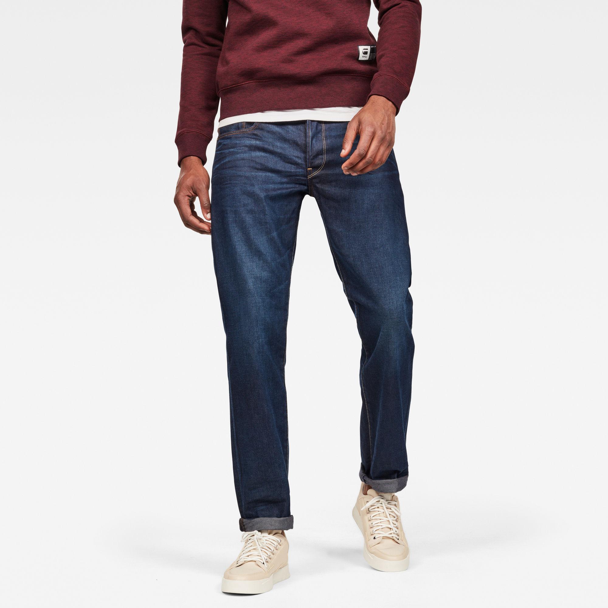 3301 Straight Jeans kopen Donkerblauw