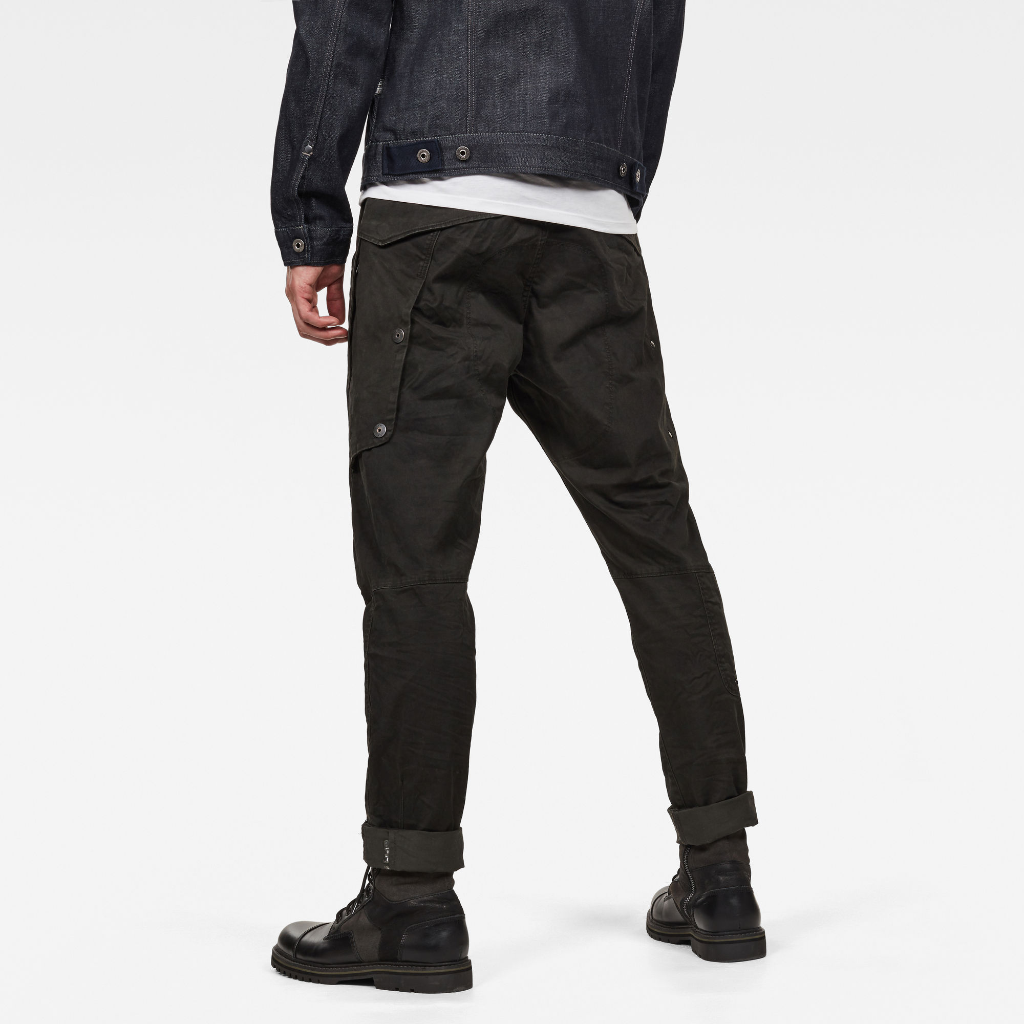 3D Cargo Slim Tapered Jeans