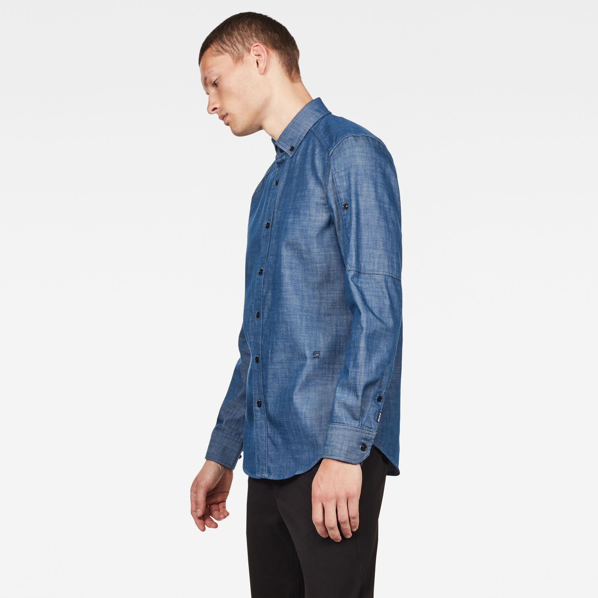 Stalt Pocket Slim Shirt
