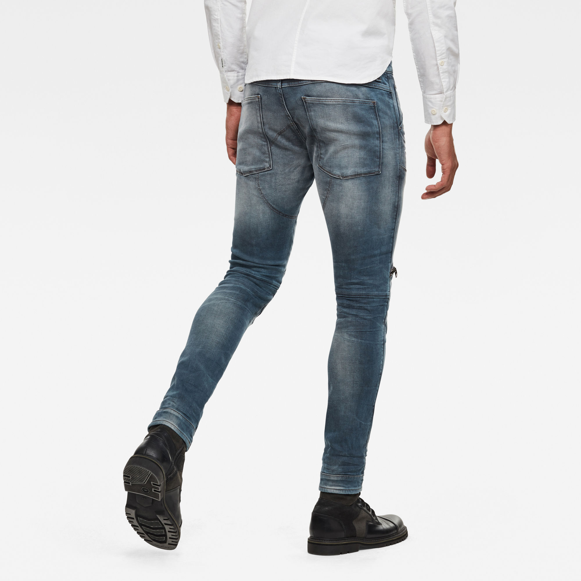 G-Star RAW 5620 3D Zip Knee Skinny Jeans
