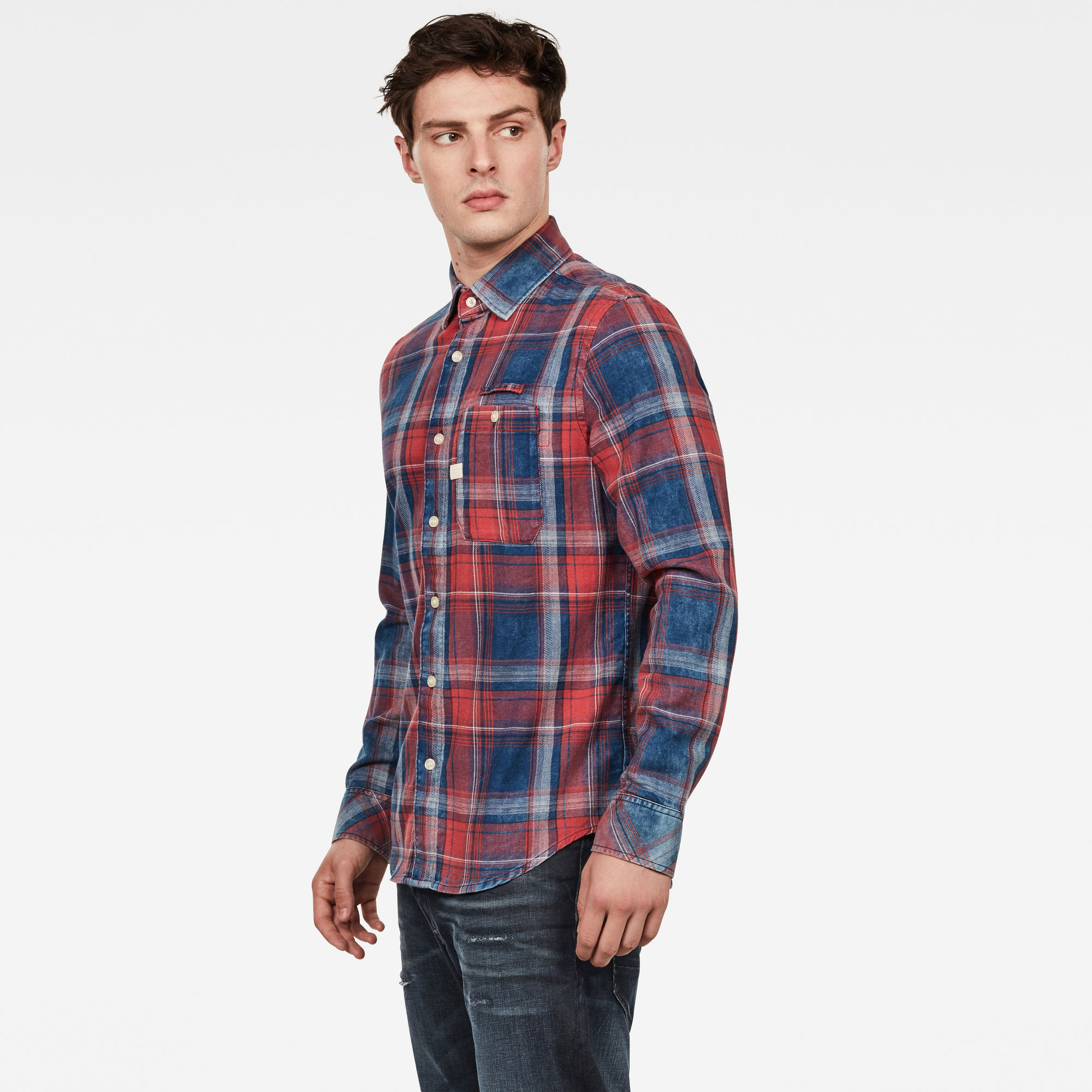 Bristum Pocket Slim Shirt