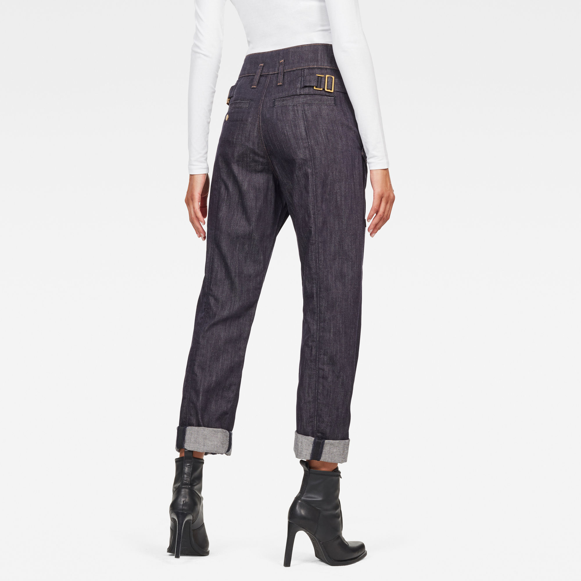 G-Star RAW GSRR Lanc Ultra High Straight Broek