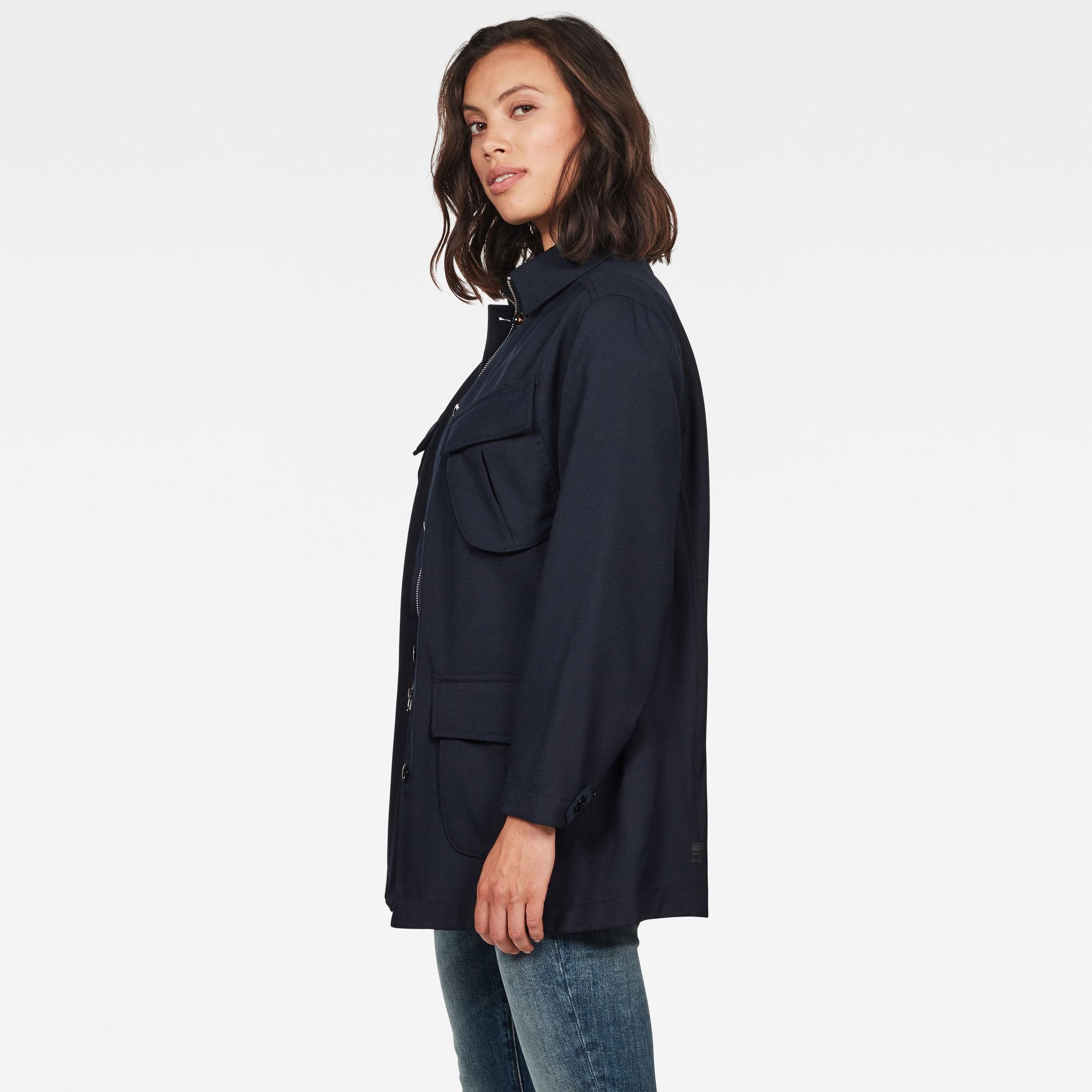 Chisel A-lijn Field Jacket