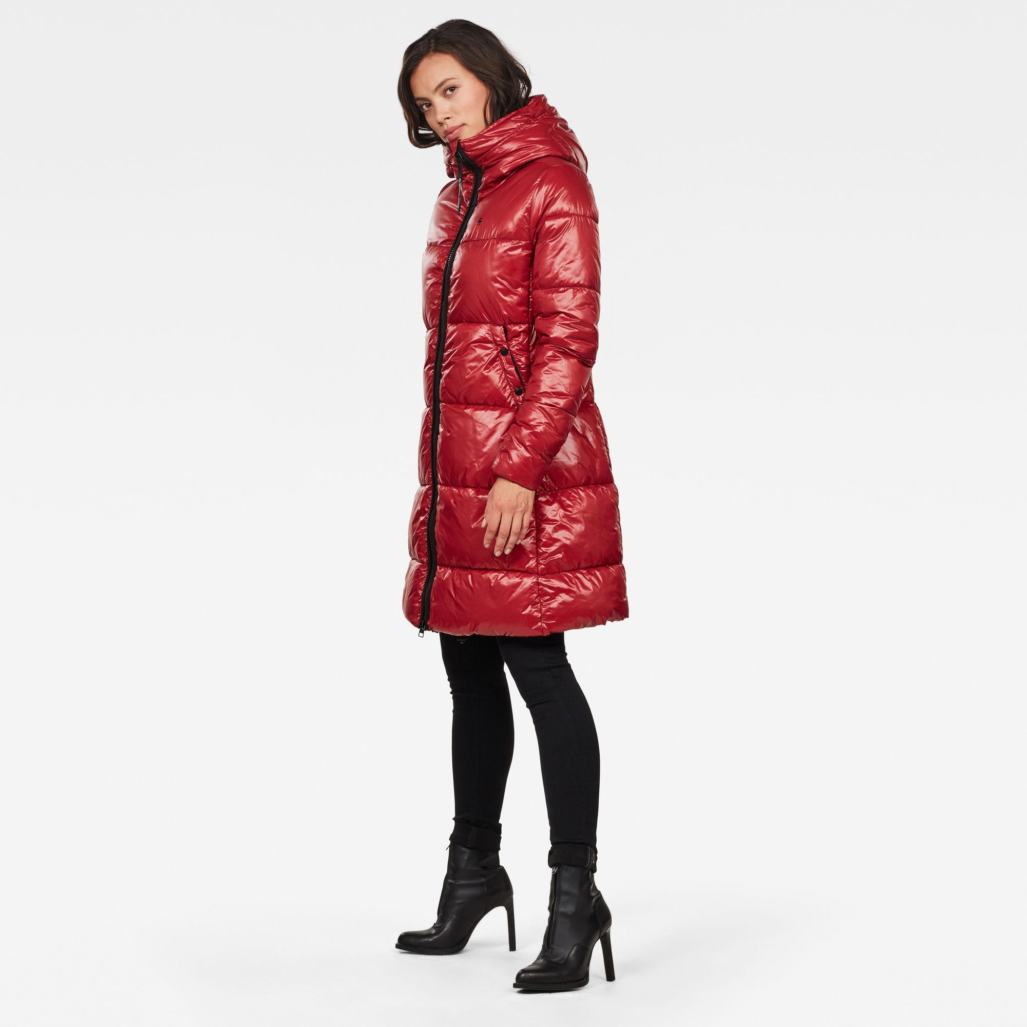 Whistler Hooded Quilted A-line Jas