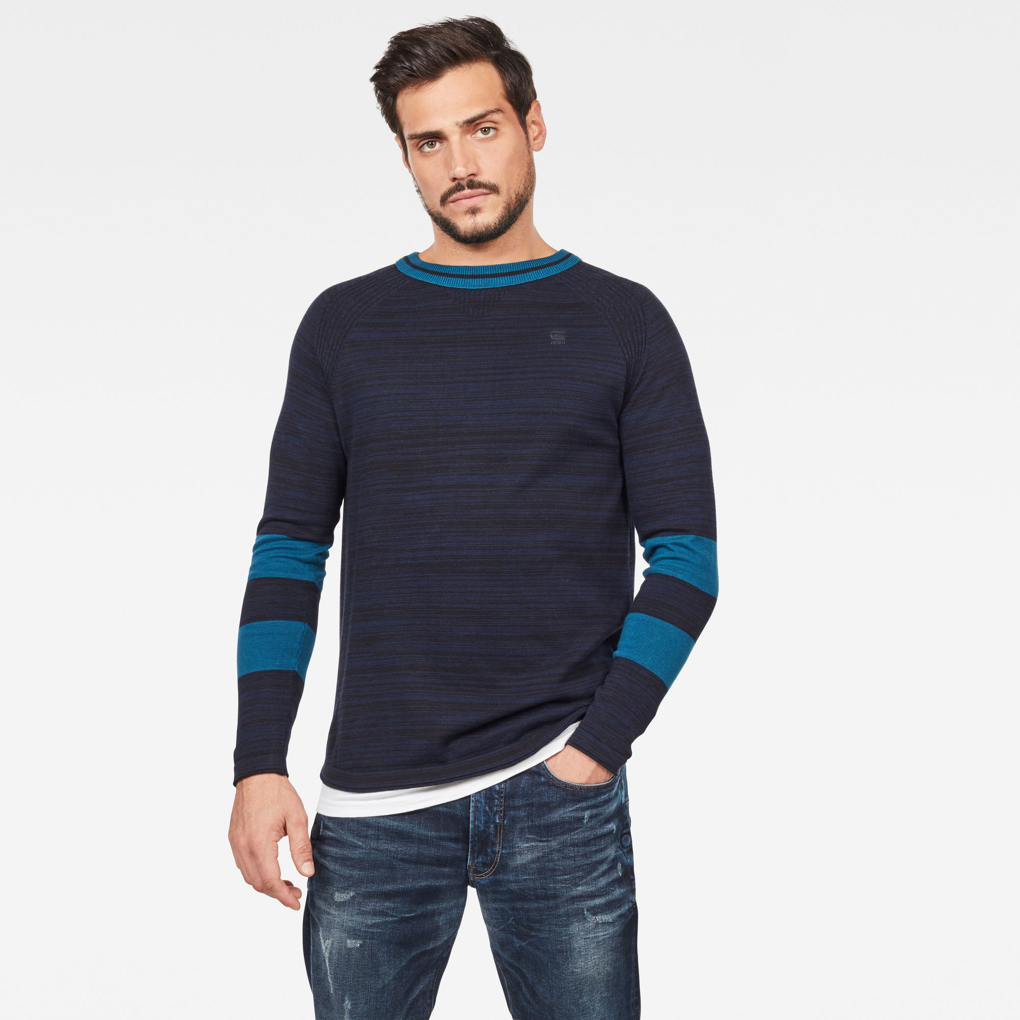 Pull en maille Core Straight