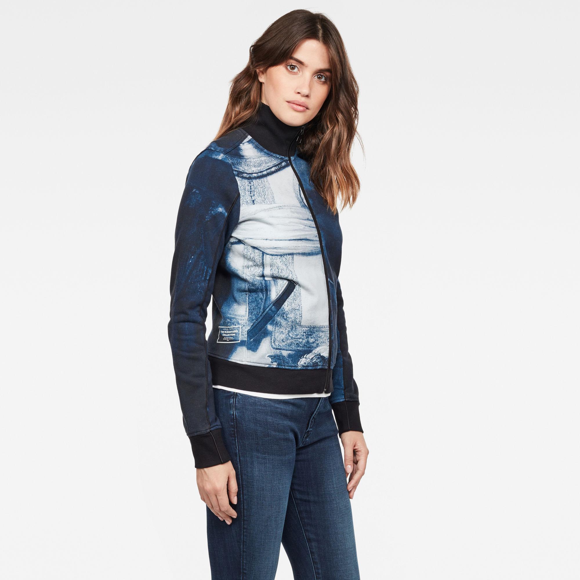 G-Star RAW Rijks Lanc Slim Tracktop Sweater